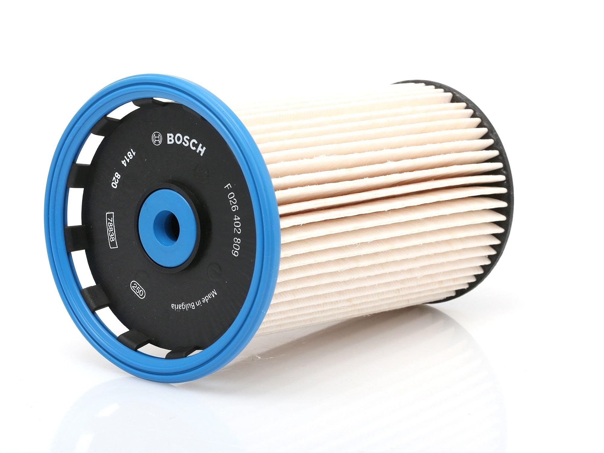 Palivový filtr F 026 402 809 s vynikajícím poměrem mezi cenou a BOSCH kvalitou