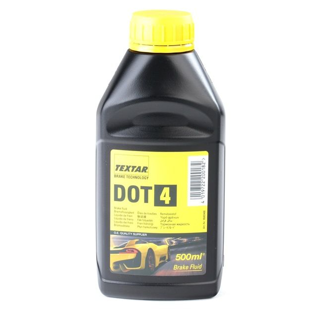 TEXTAR DOT 4 Brake Fluid 0,5l 95002400