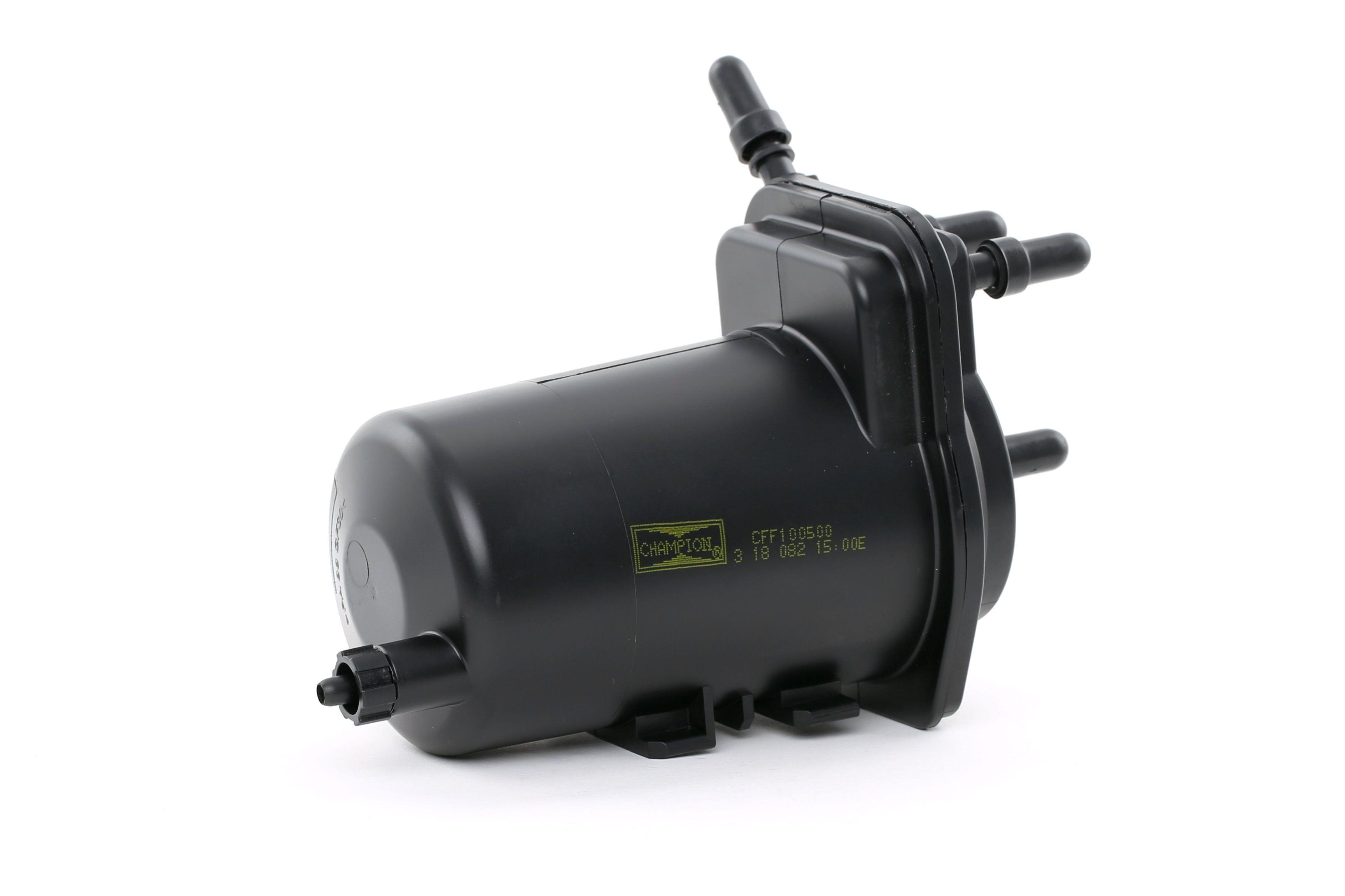 Купете CFF100500 CHAMPION без връзка за сензор за вода, проточен филтър височина: 194мм Горивен филтър CFF100500 евтино
