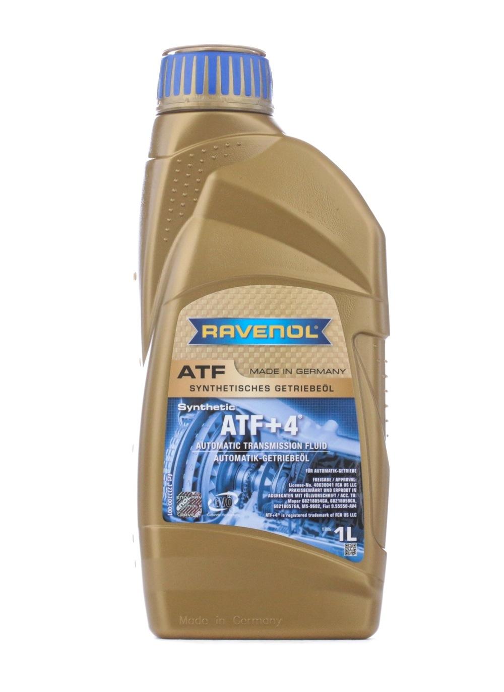 1211100-001-01-999 RAVENOL ATF+4 Inhalt: 1l, API ATF+4 Automatikgetriebeöl 1211100-001-01-999 günstig kaufen