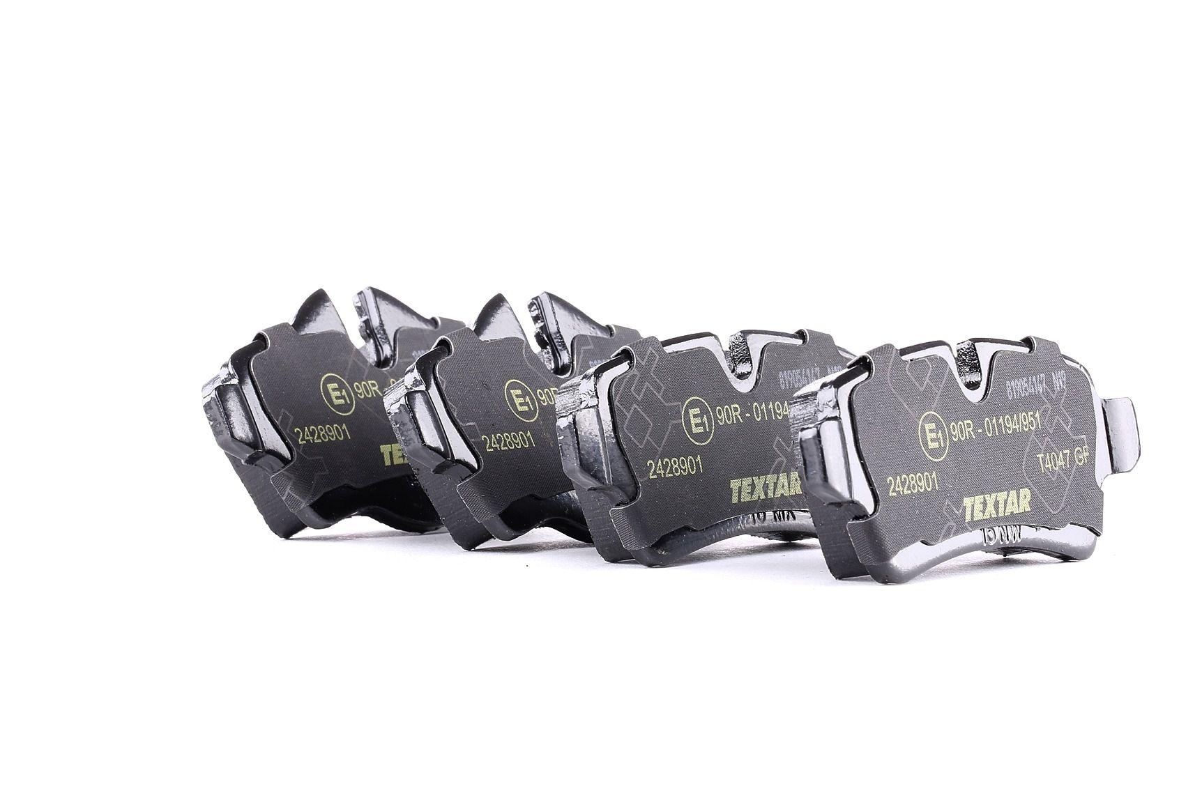 Bremsbelagsatz TEXTAR 2428901