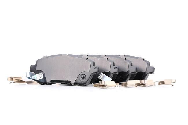 TEXTAR: Original Betriebsbremse 2428303 (Höhe: 51,6mm, Breite: 125,7mm, Dicke/Stärke: 16,1mm)