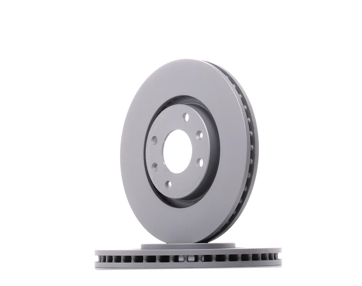 OPEL CORSA 2019 Bremsscheiben - Original TEXTAR 92111603 Ø: 283mm, Bremsscheibendicke: 26mm