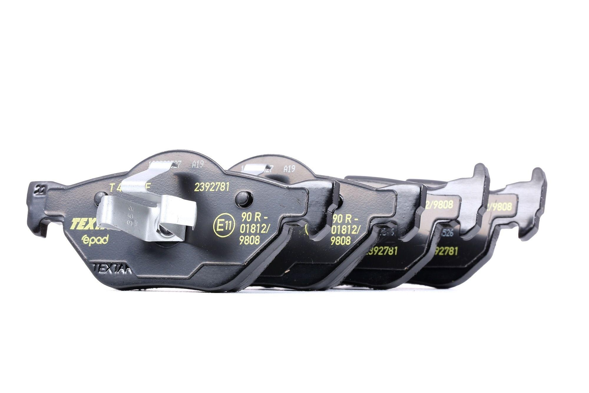 Bremsklötze TEXTAR 2392781
