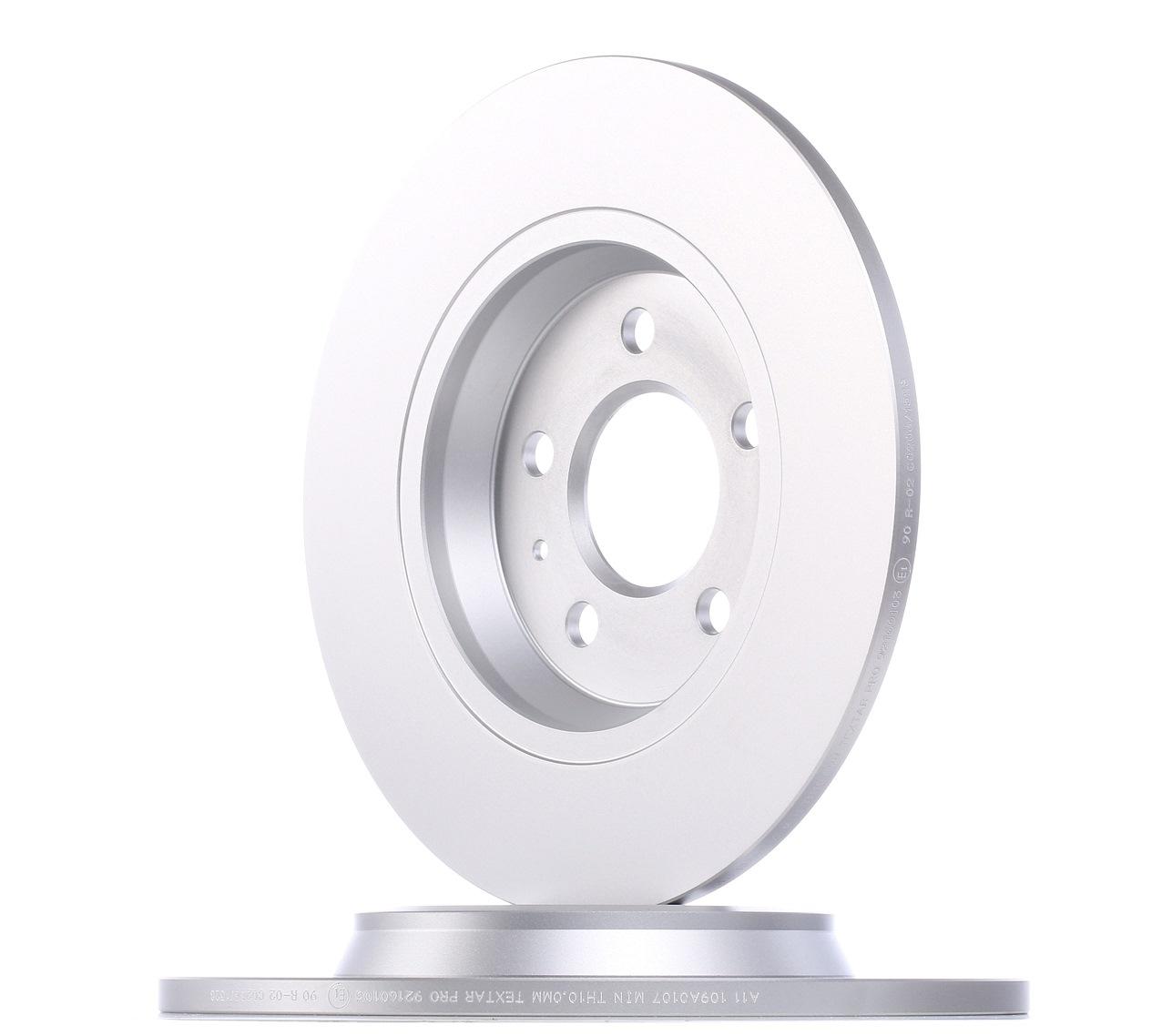 Set dischi freni 92160103 TEXTAR — Solo ricambi nuovi