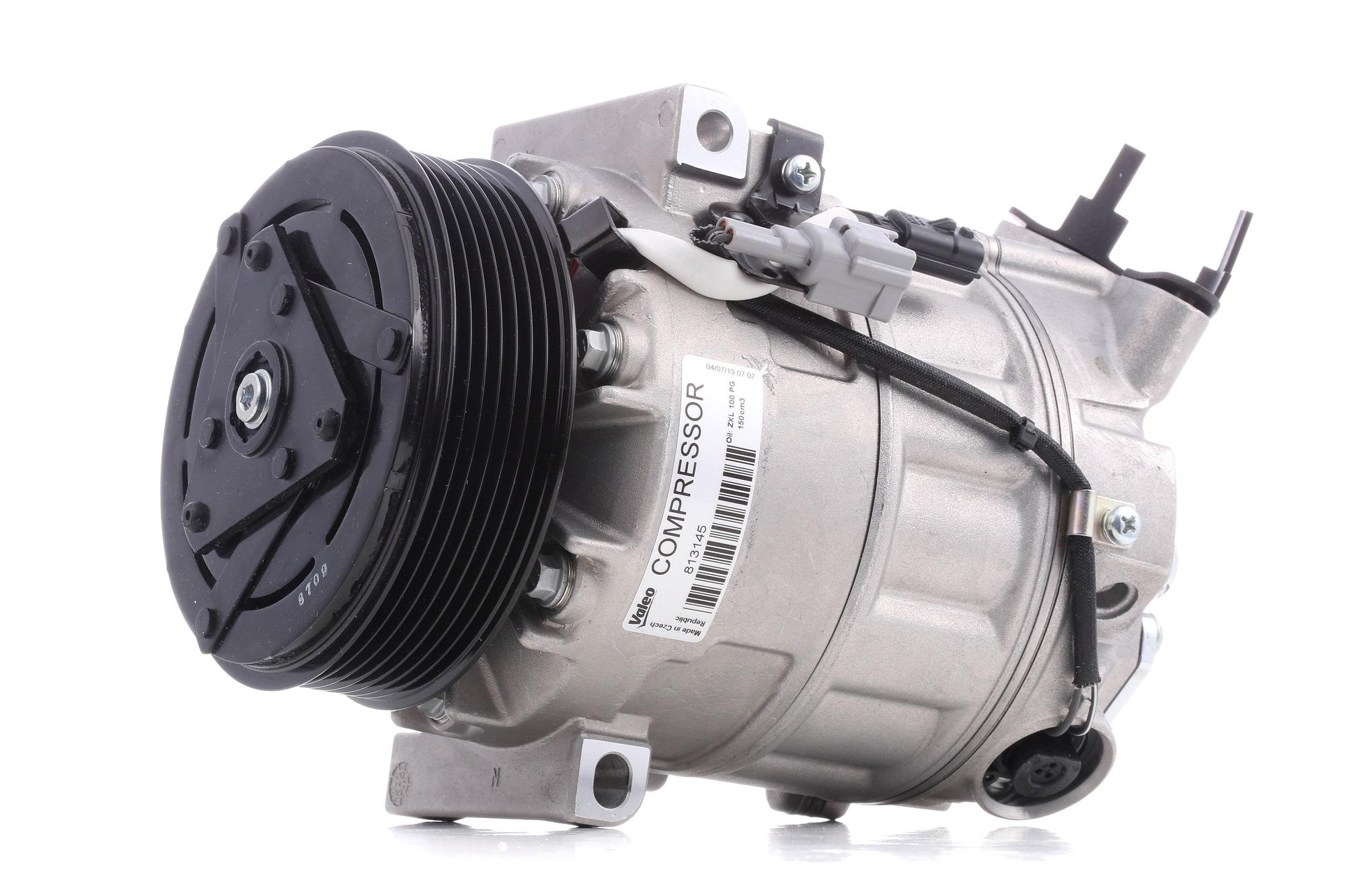 VALEO: Original Klimakompressor 813145 (Riemenscheiben-Ø: 119mm, Anzahl der Rillen: 7)