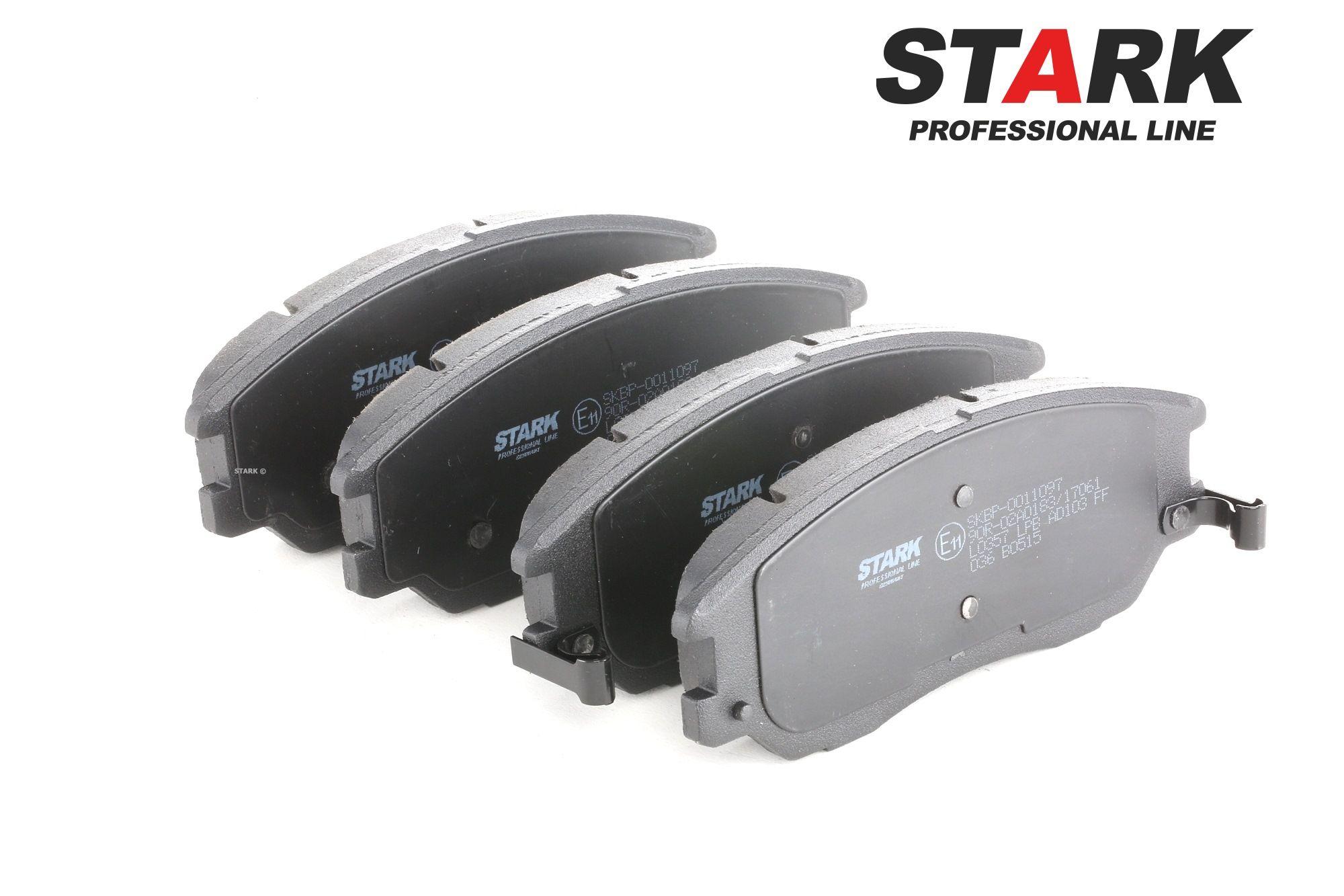 SSANGYONG KYRON 2015 Bremsklötze - Original STARK SKBP-0011097 Höhe: 60,8mm, Dicke/Stärke: 17,2mm
