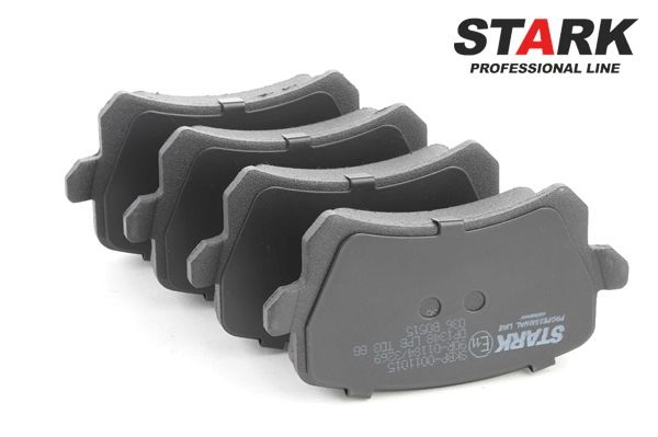 Bremsbelagsatz, Scheibenbremse SKBP-0011015 — aktuelle Top OE 1K0698451 Ersatzteile-Angebote