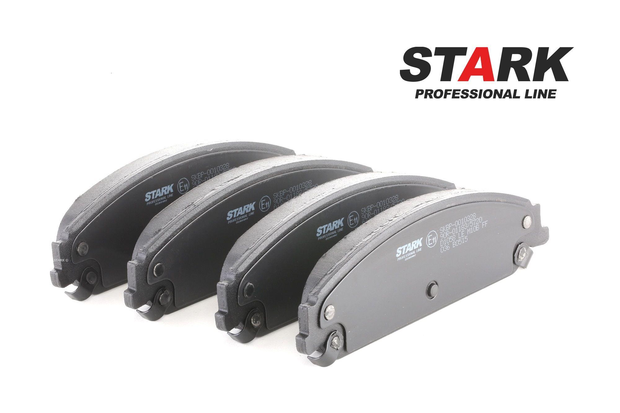 CHRYSLER 300 2017 Bremsbelagsatz Scheibenbremse - Original STARK SKBP-0010328 Höhe: 54,9mm, Breite: 183,4mm, Dicke/Stärke: 18,1mm