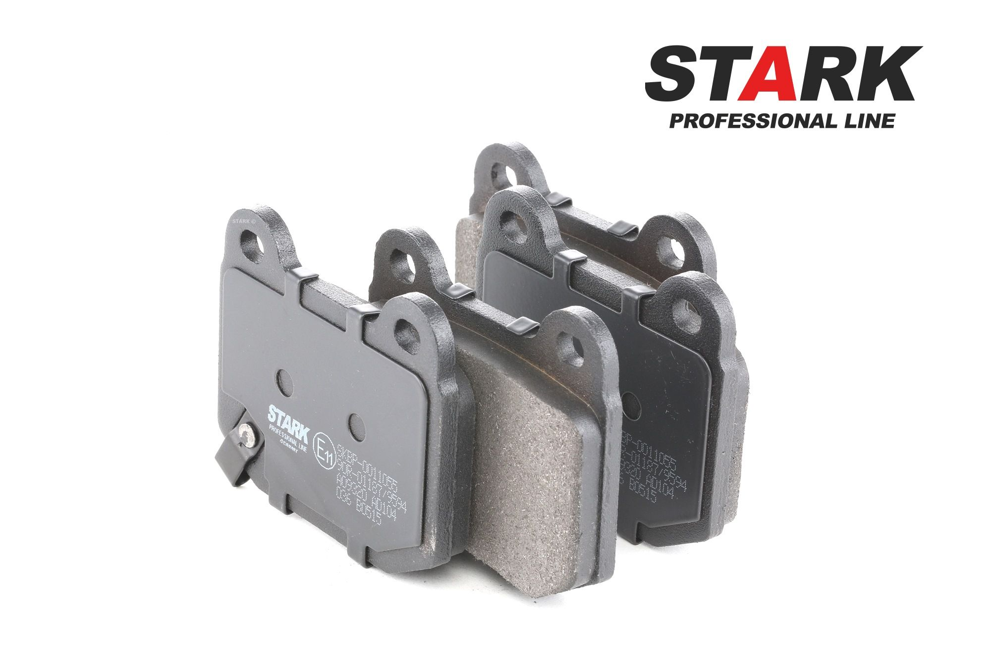 SUBARU WRX 2016 Bremsbeläge - Original STARK SKBP-0011055 Höhe: 65,5mm, Breite: 76,5mm, Dicke/Stärke: 14,3mm