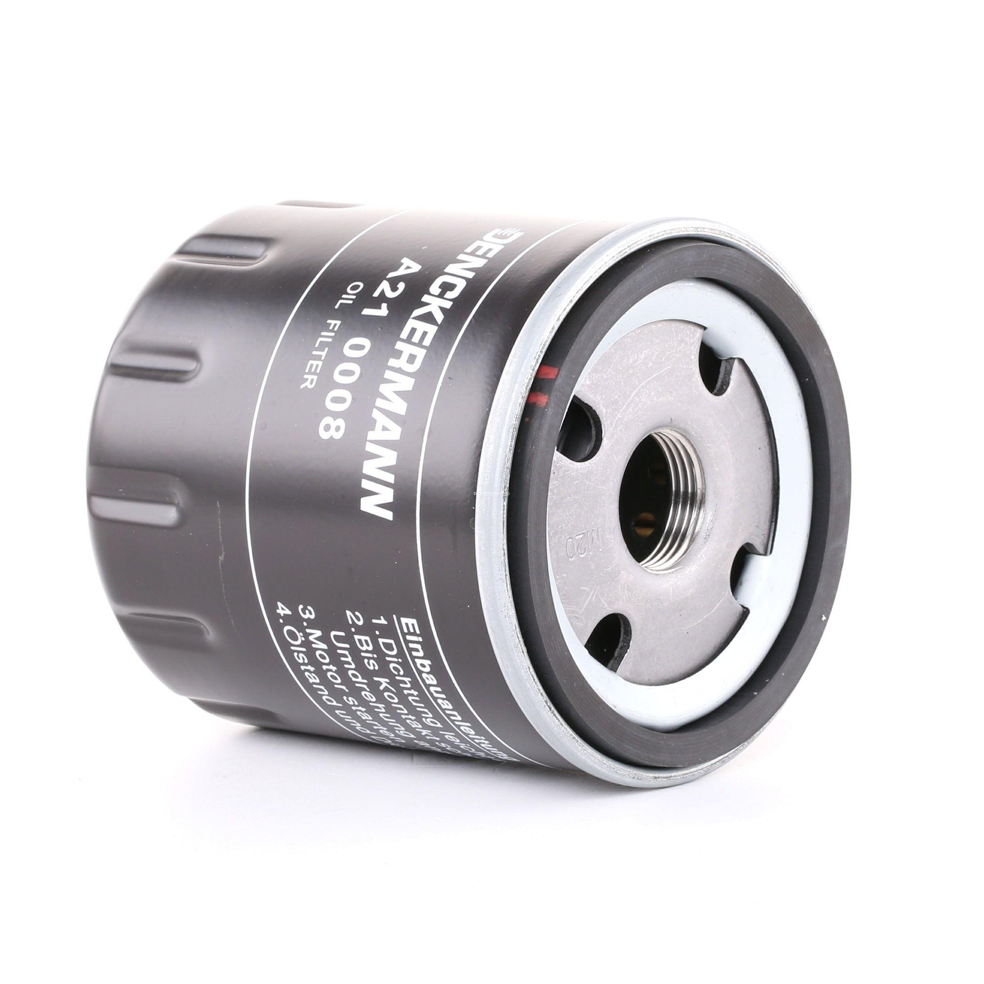 Achat de A210008 DENCKERMANN Filtre vissé Diamètre intérieur 2: 72mm, Diamètre intérieur 2: 63mm, Hauteur: 88mm Filtre à huile A210008 pas chères