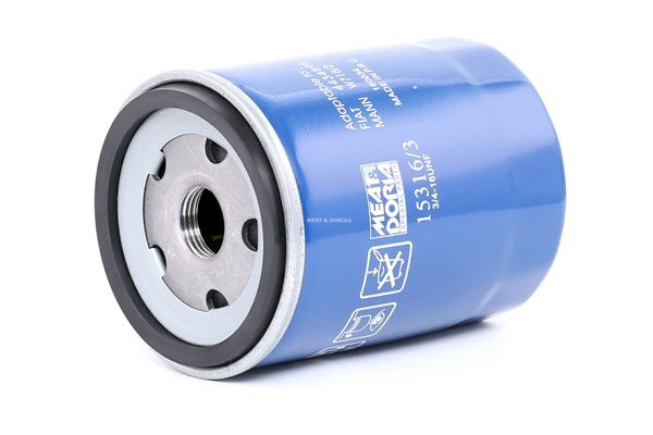 Oil filter 15316/3 with an exceptional MEAT & DORIA price-performance ratio