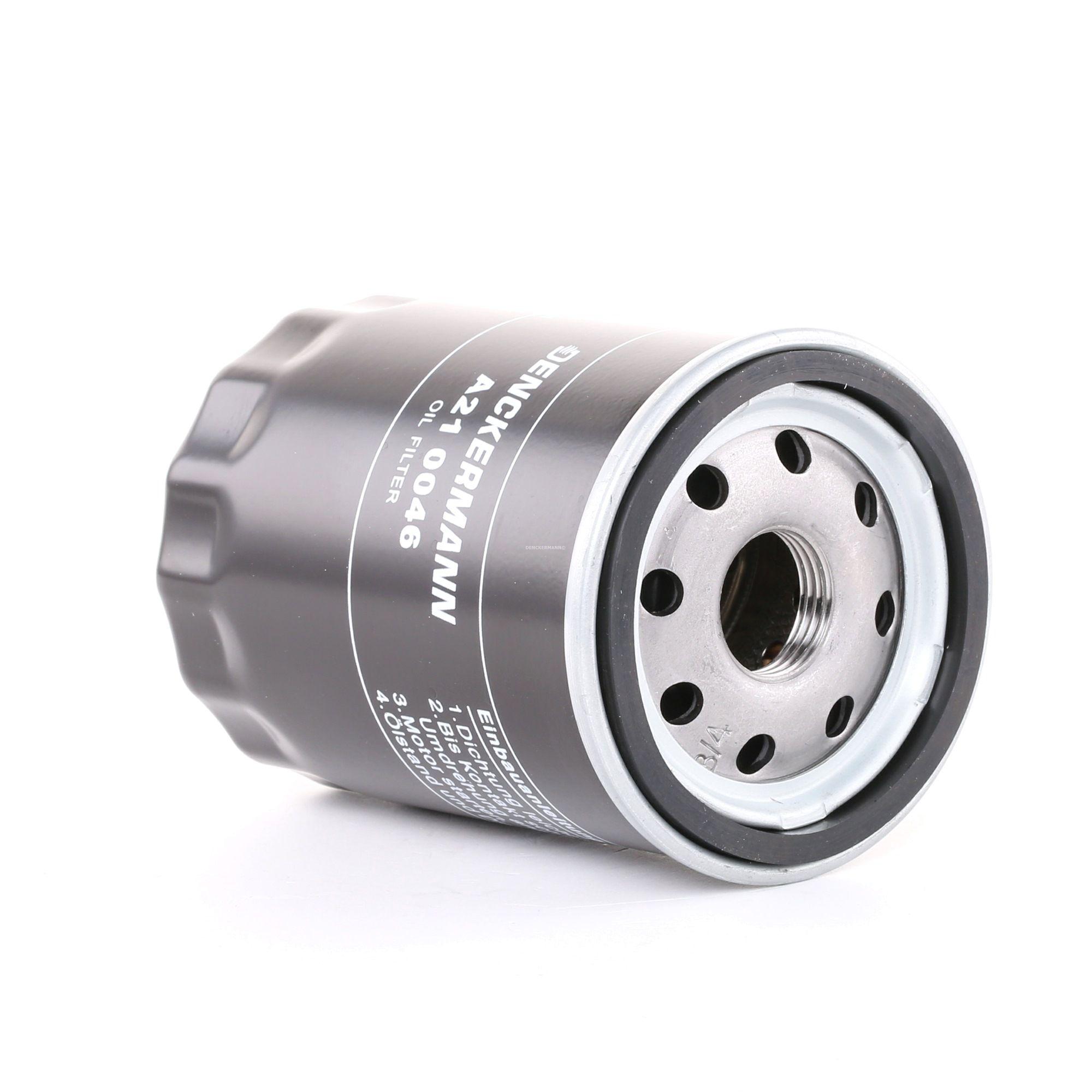 A210046 DENCKERMANN Anschraubfilter Innendurchmesser 2: 55mm, Innendurchmesser 2: 63mm, Höhe: 92mm Ölfilter A210046 günstig kaufen