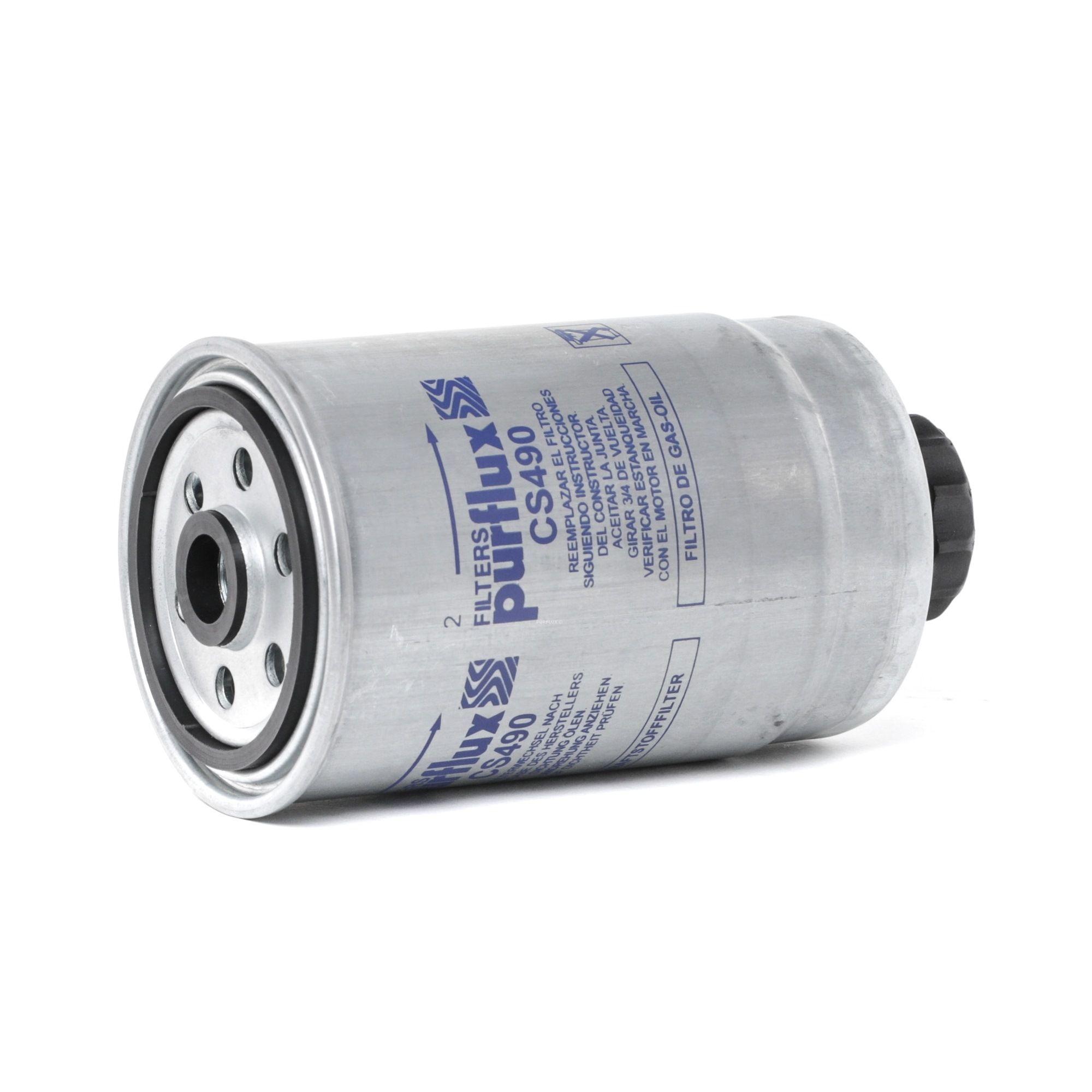 Achat de CS490 PURFLUX Cartouche filtrante Hauteur: 157mm Filtre à carburant CS490 pas chères