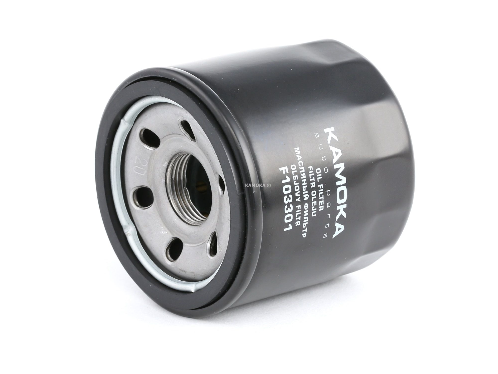 F103301 KAMOKA Anschraubfilter, mit einem Rücklaufsperrventil Ø: 68mm, Höhe: 67mm Ölfilter F103301 günstig kaufen