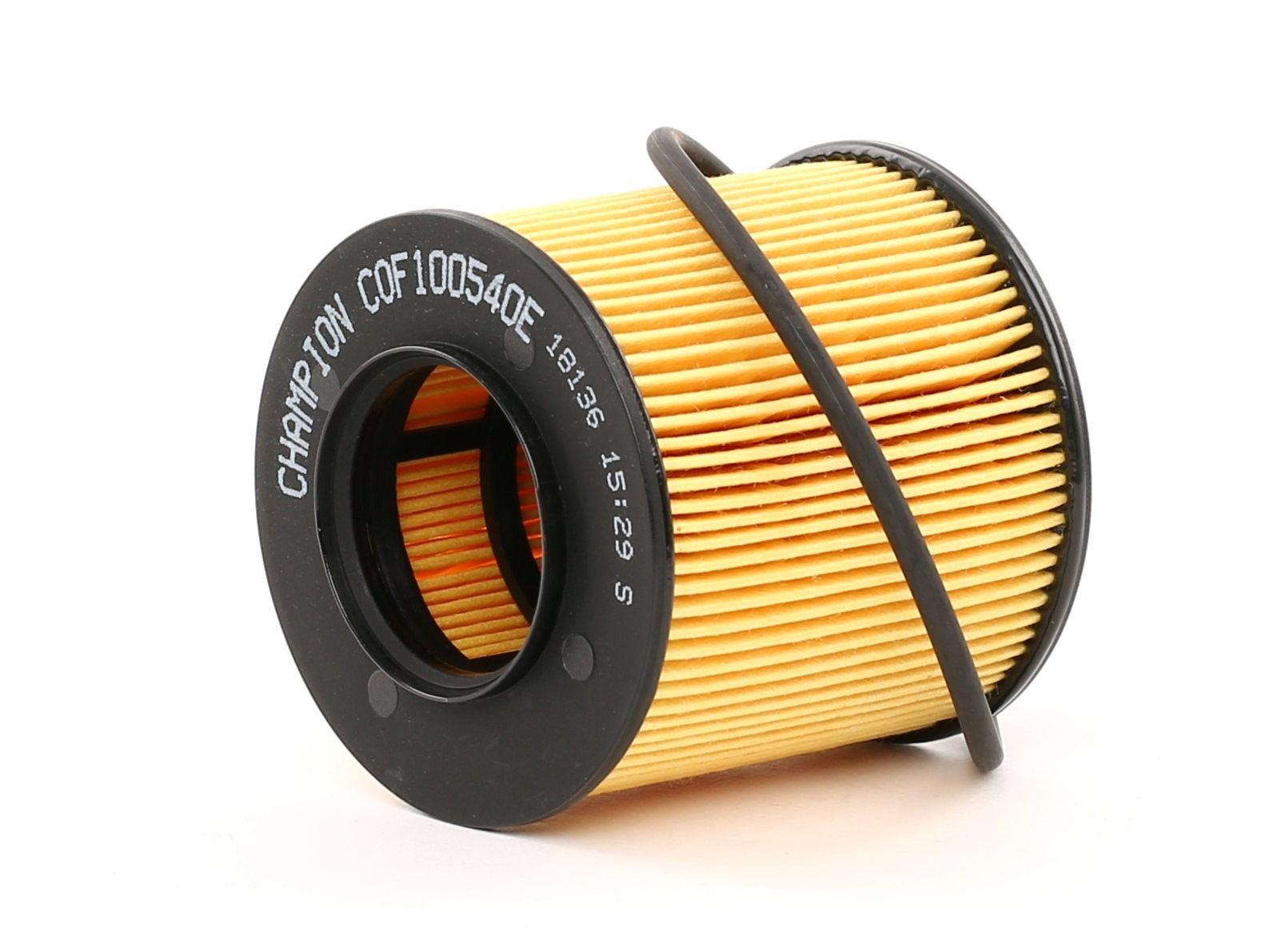 COF100540E CHAMPION EON TITAN Filtereinsatz Innendurchmesser: 33mm, Innendurchmesser 2: 38mm, Innendurchmesser 2: 28mm, Ø: 65mm, Höhe: 72mm Ölfilter COF100540E günstig kaufen