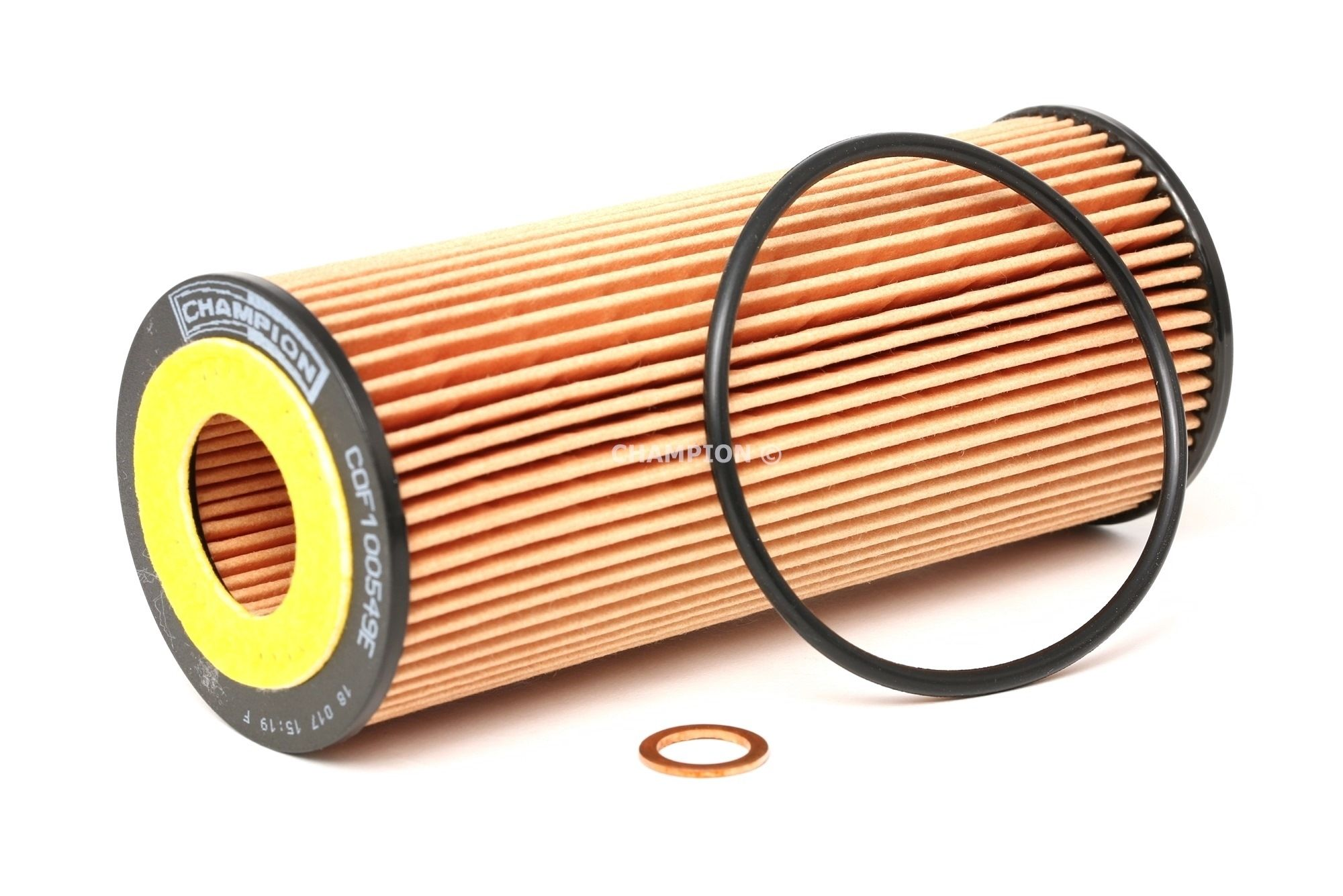 COF100549E CHAMPION EON TITAN Filtereinsatz Innendurchmesser: 27mm, Innendurchmesser 2: 33mm, Ø: 64mm, Höhe: 153mm, Höhe 1: 150mm Ölfilter COF100549E günstig kaufen