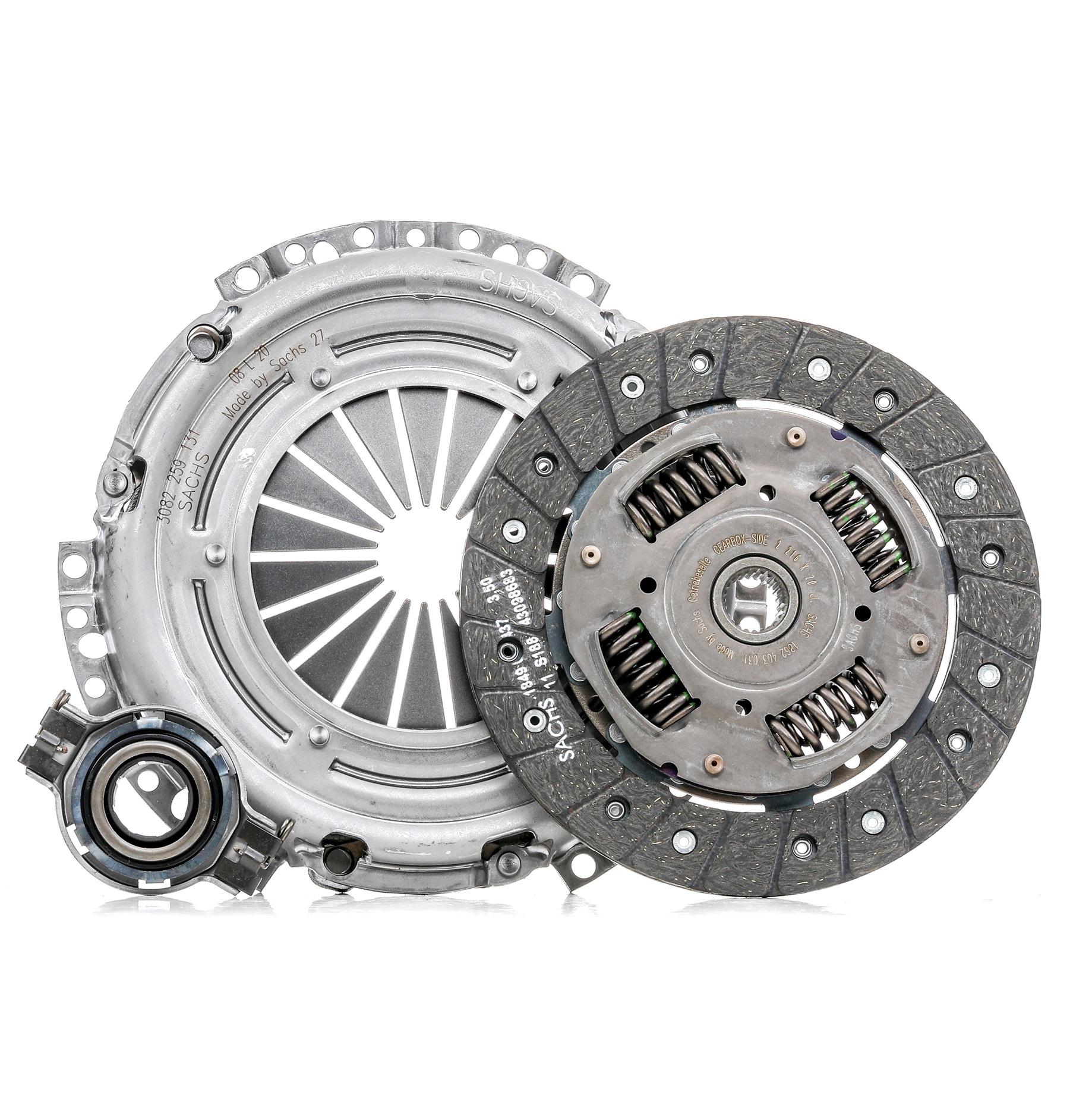 VW POLO 2014 Kupplung - Original SACHS 3000 581 002 Ø: 200mm