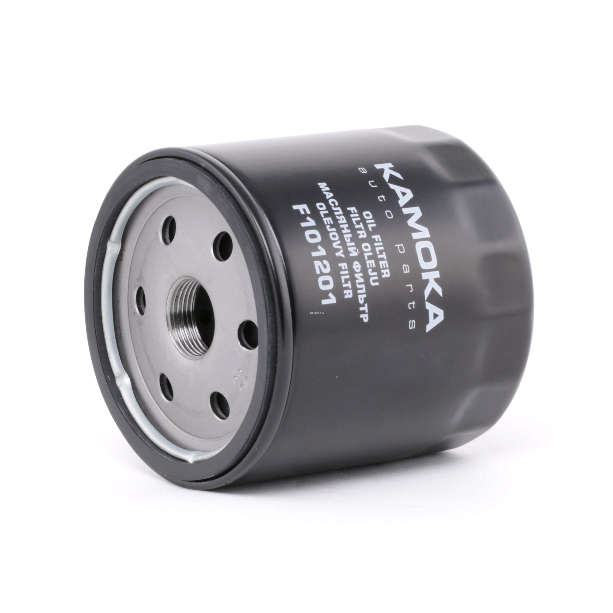 F101201 KAMOKA Anschraubfilter, mit einem Rücklaufsperrventil Ø: 96mm, Höhe: 97mm Ölfilter F101201 günstig kaufen