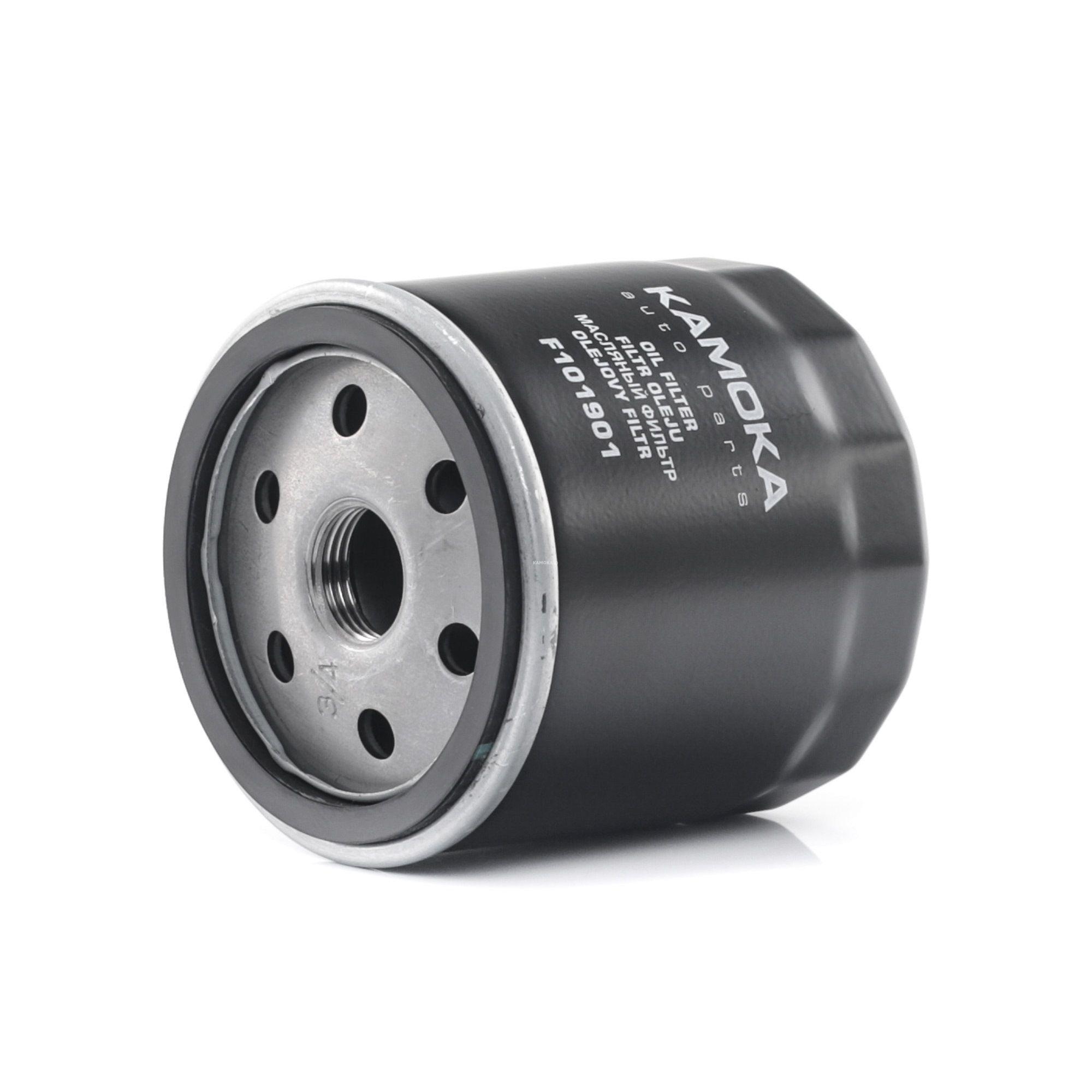 F101901 KAMOKA Anschraubfilter Ø: 75mm, Höhe: 91mm Ölfilter F101901 günstig kaufen