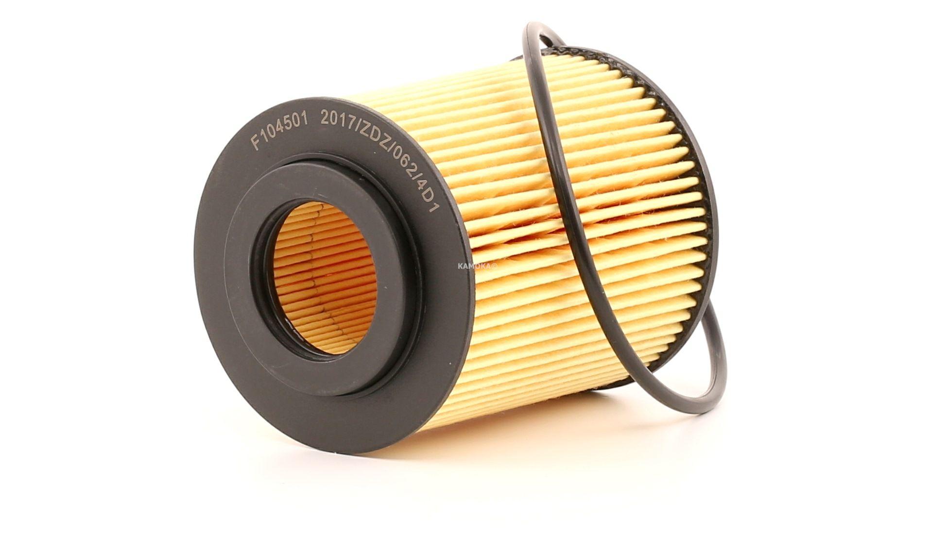 F104501 KAMOKA Filtereinsatz Innendurchmesser 2: 31mm, Innendurchmesser 2: 31mm, Ø: 72mm, Höhe: 93mm Ölfilter F104501 günstig kaufen