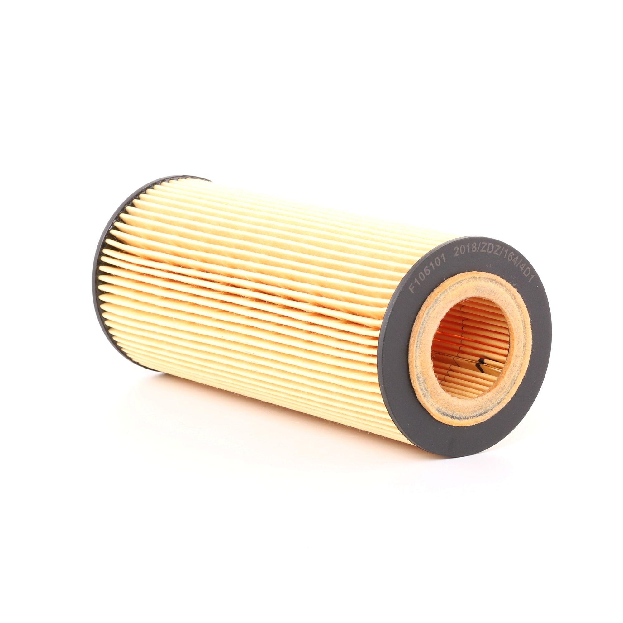 F106101 KAMOKA Filtereinsatz Innendurchmesser 2: 32mm, Innendurchmesser 2: 32mm, Ø: 65mm, Höhe: 155mm Ölfilter F106101 günstig kaufen