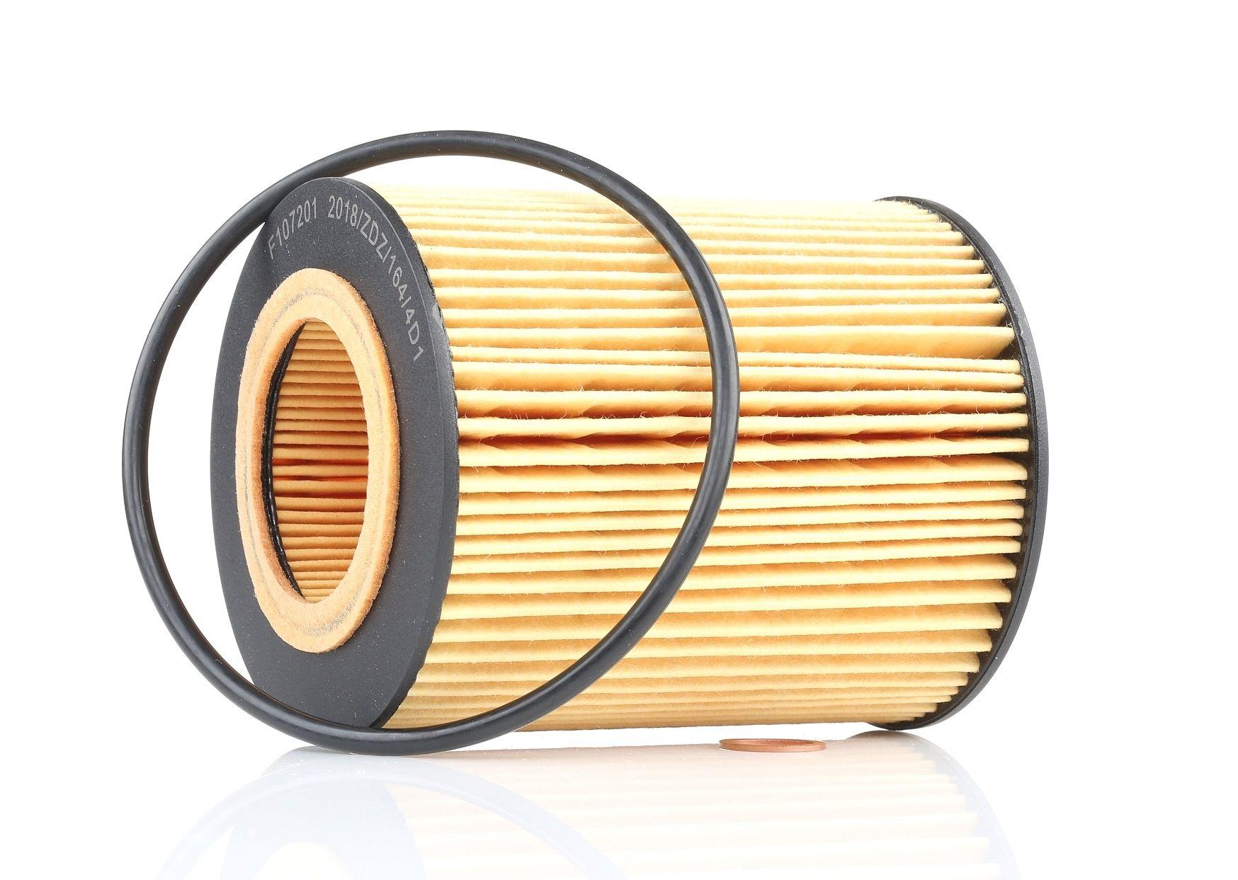 F107201 KAMOKA Filtereinsatz Innendurchmesser 2: 43mm, Innendurchmesser 2: 43mm, Ø: 83mm, Höhe: 104mm Ölfilter F107201 günstig kaufen