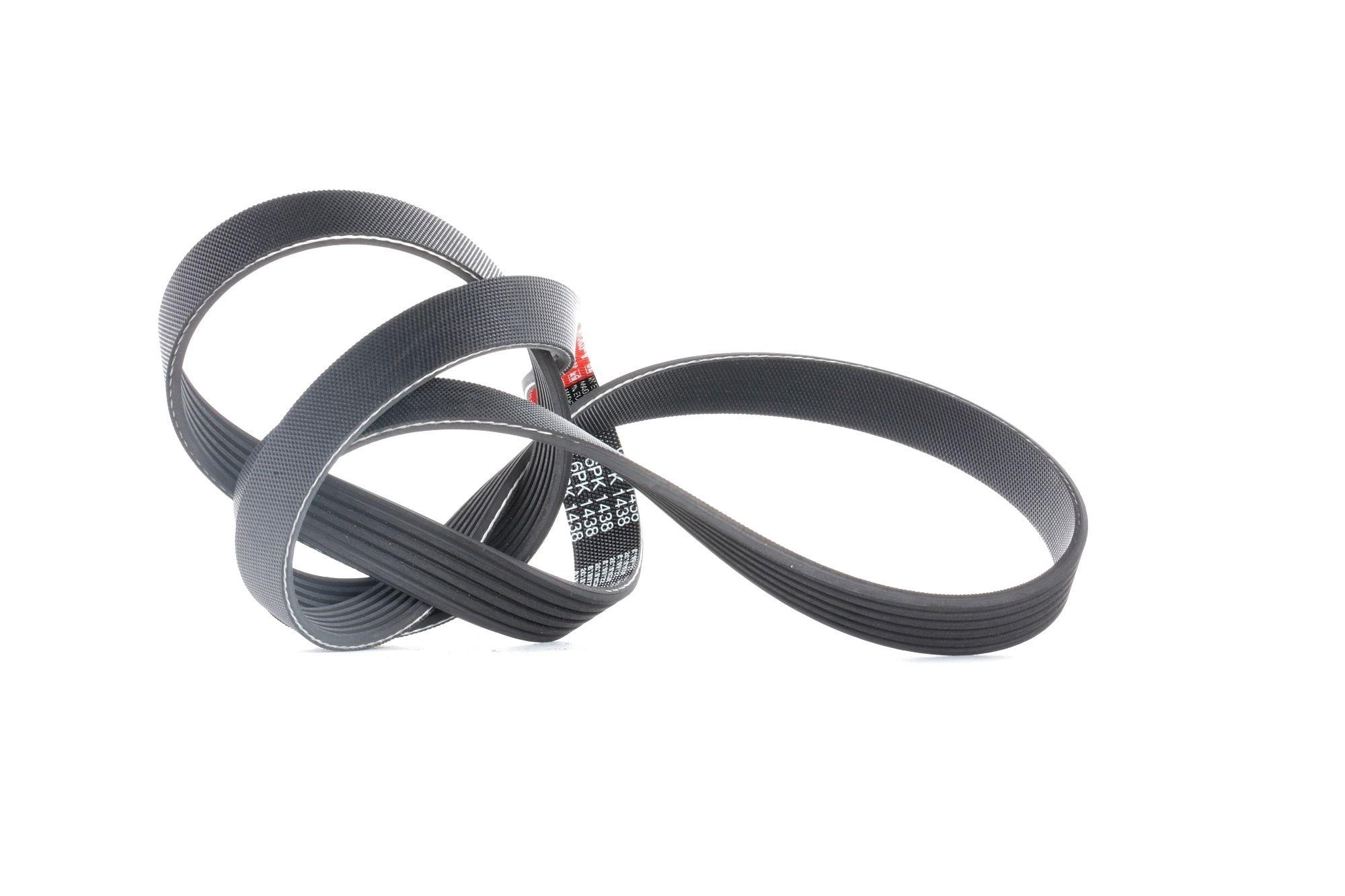 865310312 GATES Micro-V® Rippenanzahl: 6, Länge: 1438mm Keilrippenriemen 6PK1438 günstig kaufen