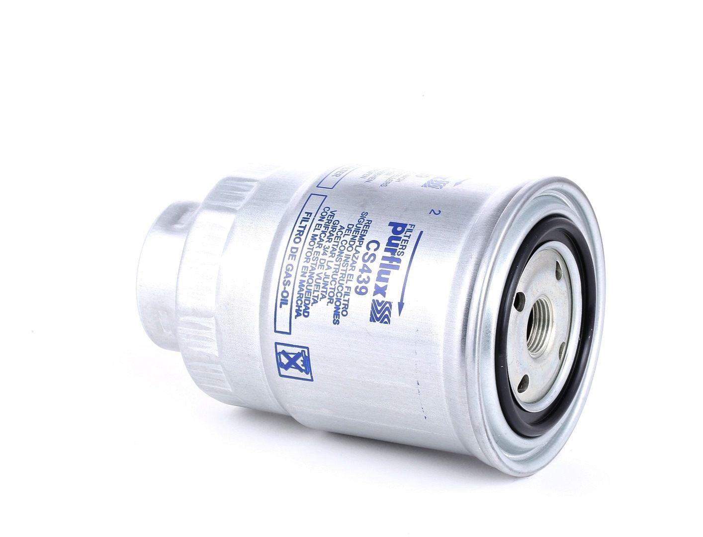 Pieces d'origine: Filtre à carburant PURFLUX CS439 (Hauteur: 139mm) - Achetez tout de suite!