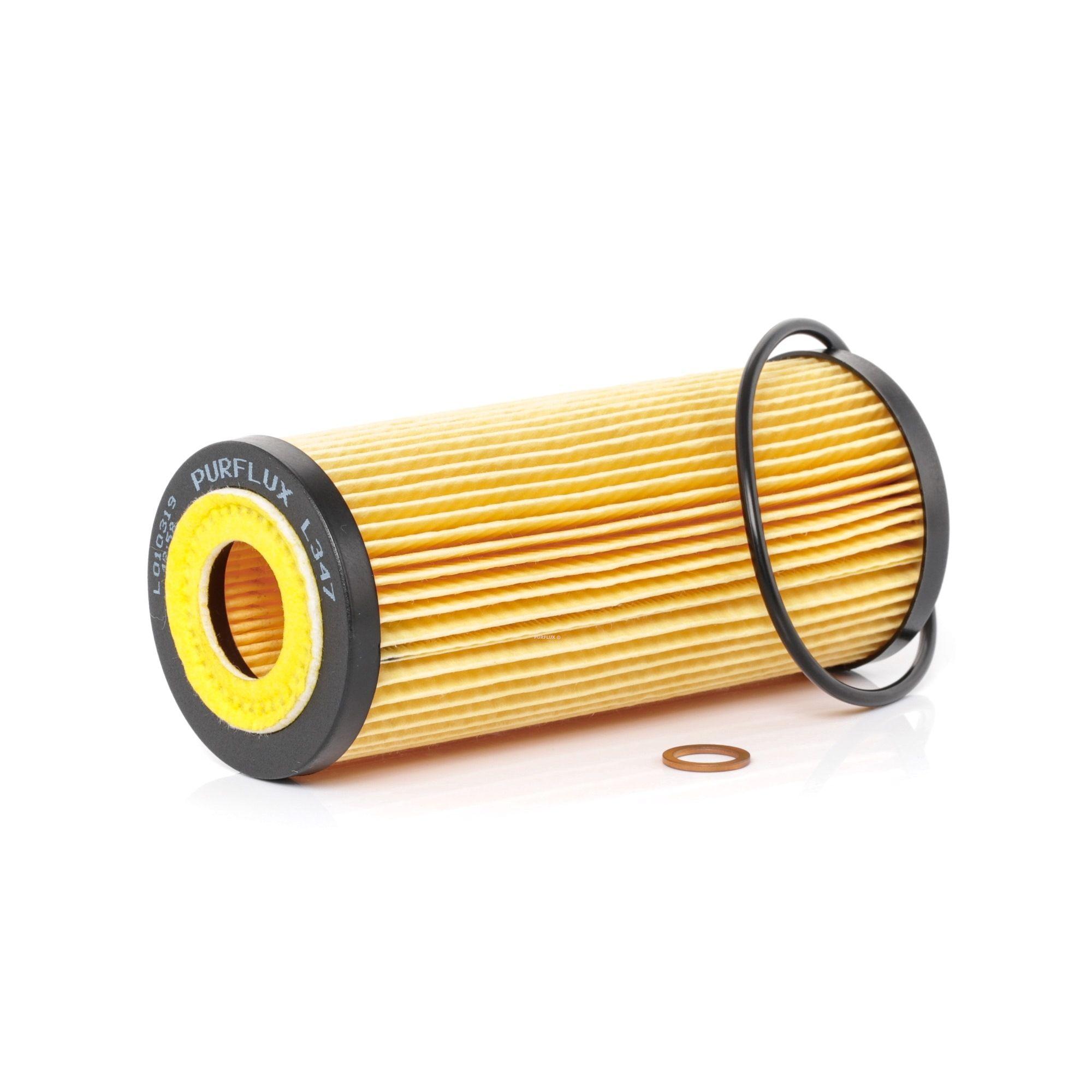 Origine Filtre à huile PURFLUX L347 (Diamètre intérieur: 31mm, Ø: 64mm, Hauteur: 154mm)