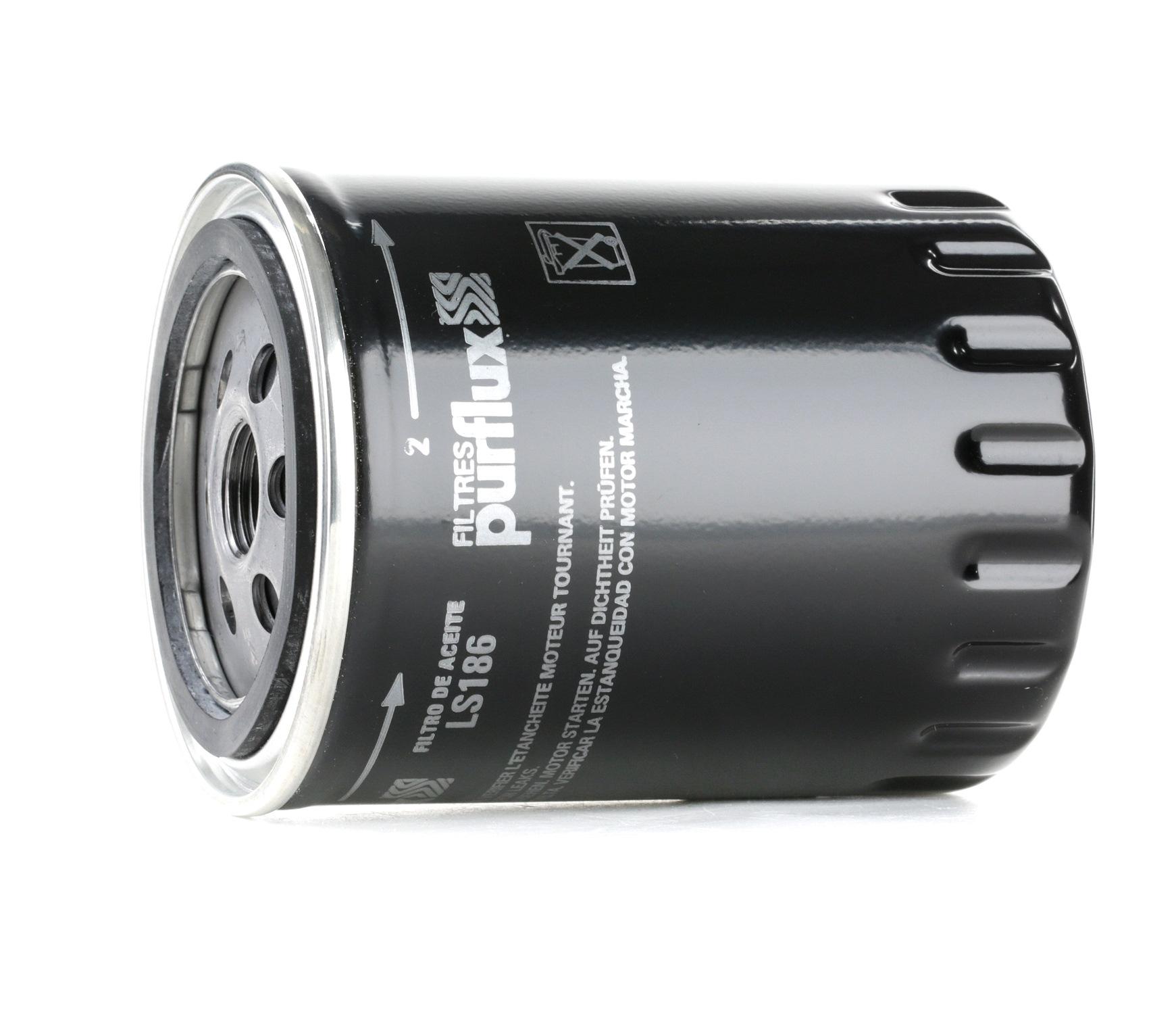 Pieces d'origine: Filtre à huile PURFLUX LS186 (Ø: 86mm, Hauteur: 119mm) - Achetez tout de suite!