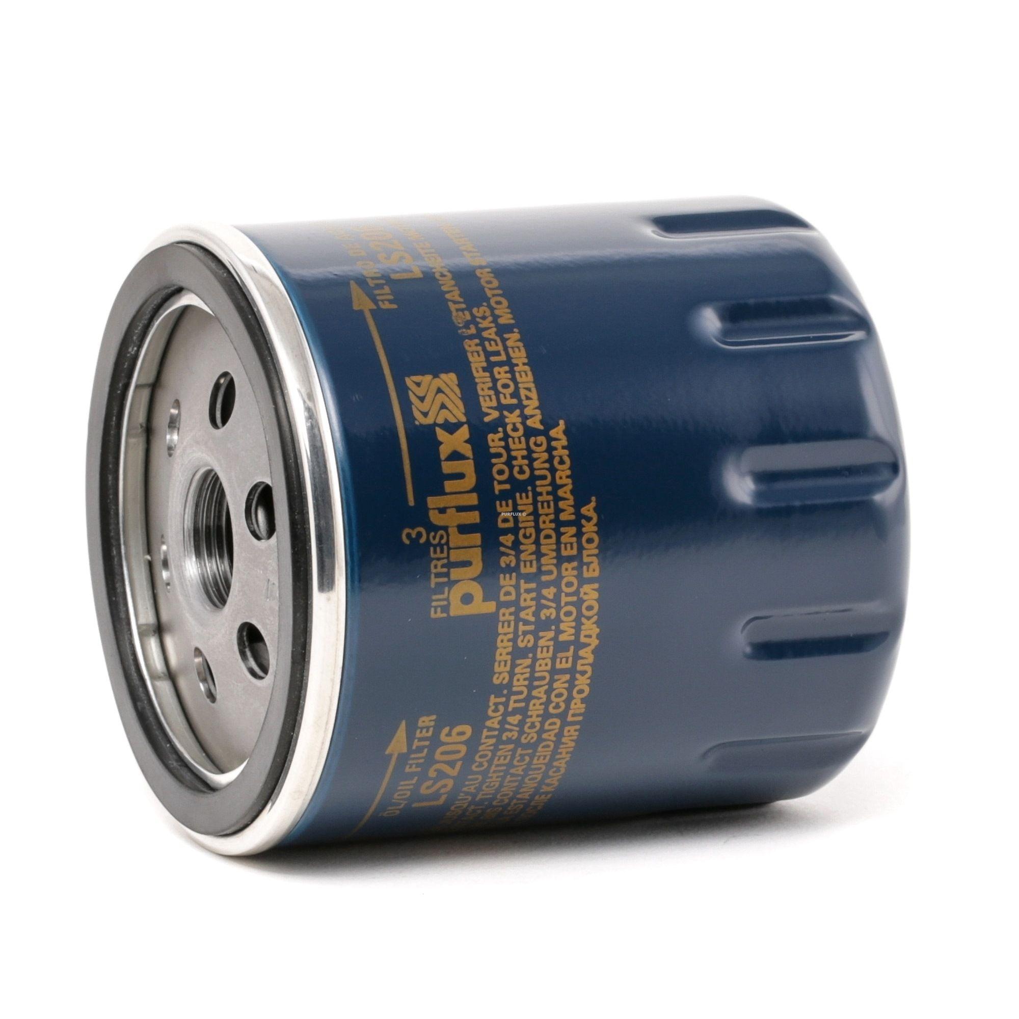 Acheter Filtre à huile Ø: 76mm, Hauteur: 85mm PURFLUX LS206 à tout moment