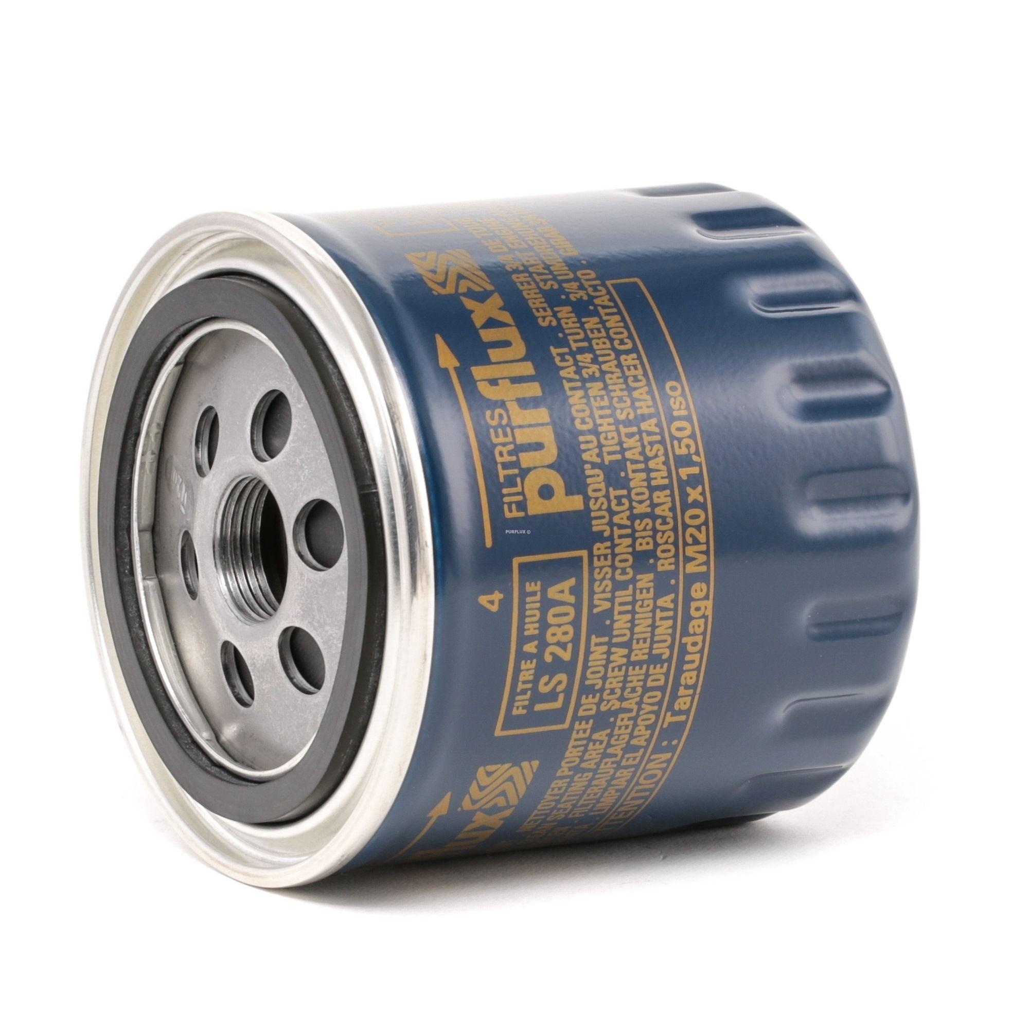 Pieces detachees RENAULT 20 1979 : Filtre à huile PURFLUX LS280A Ø: 86mm, Hauteur: 89mm - Achetez tout de suite!