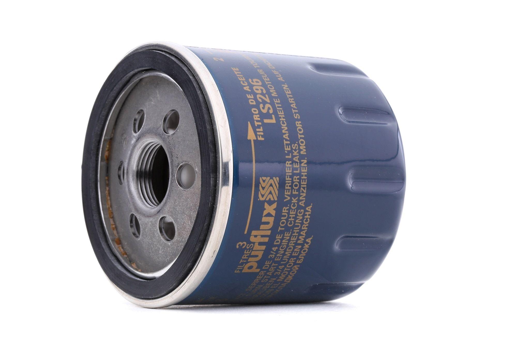 LS296 PURFLUX Anschraubfilter Ø: 76mm, Höhe: 74mm Ölfilter LS296 günstig kaufen