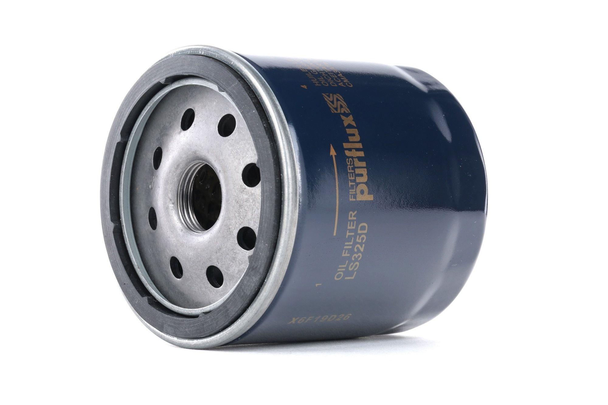 Achetez Filtre à huile PURFLUX LS325D (Ø: 76mm, Hauteur: 93mm) à un rapport qualité-prix exceptionnel
