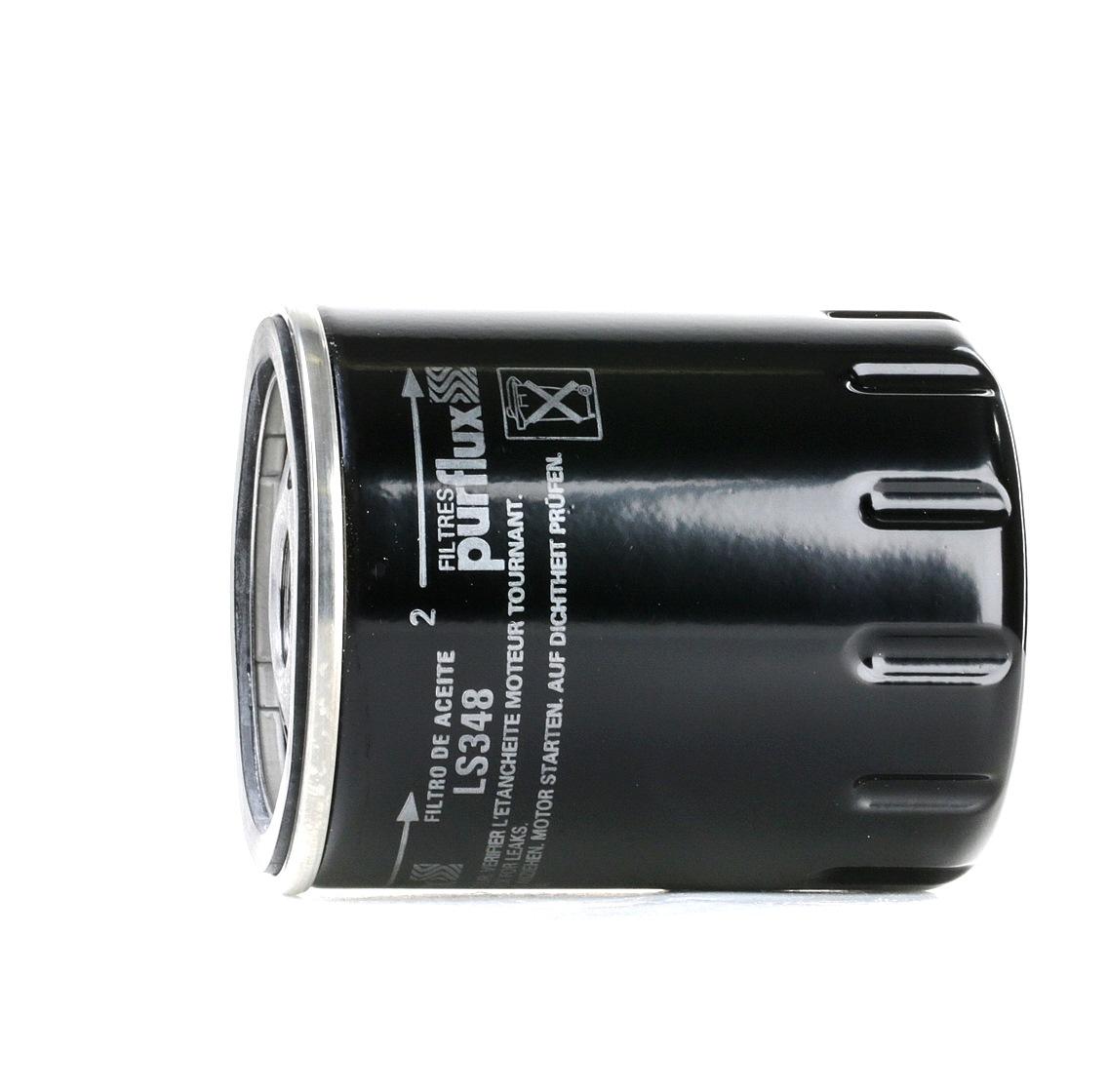 Pieces d'origine: Filtre à huile PURFLUX LS348 (Ø: 76mm, Hauteur: 100mm) - Achetez tout de suite!