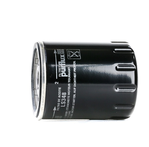Oil filter LS348 with an exceptional PURFLUX price-performance ratio