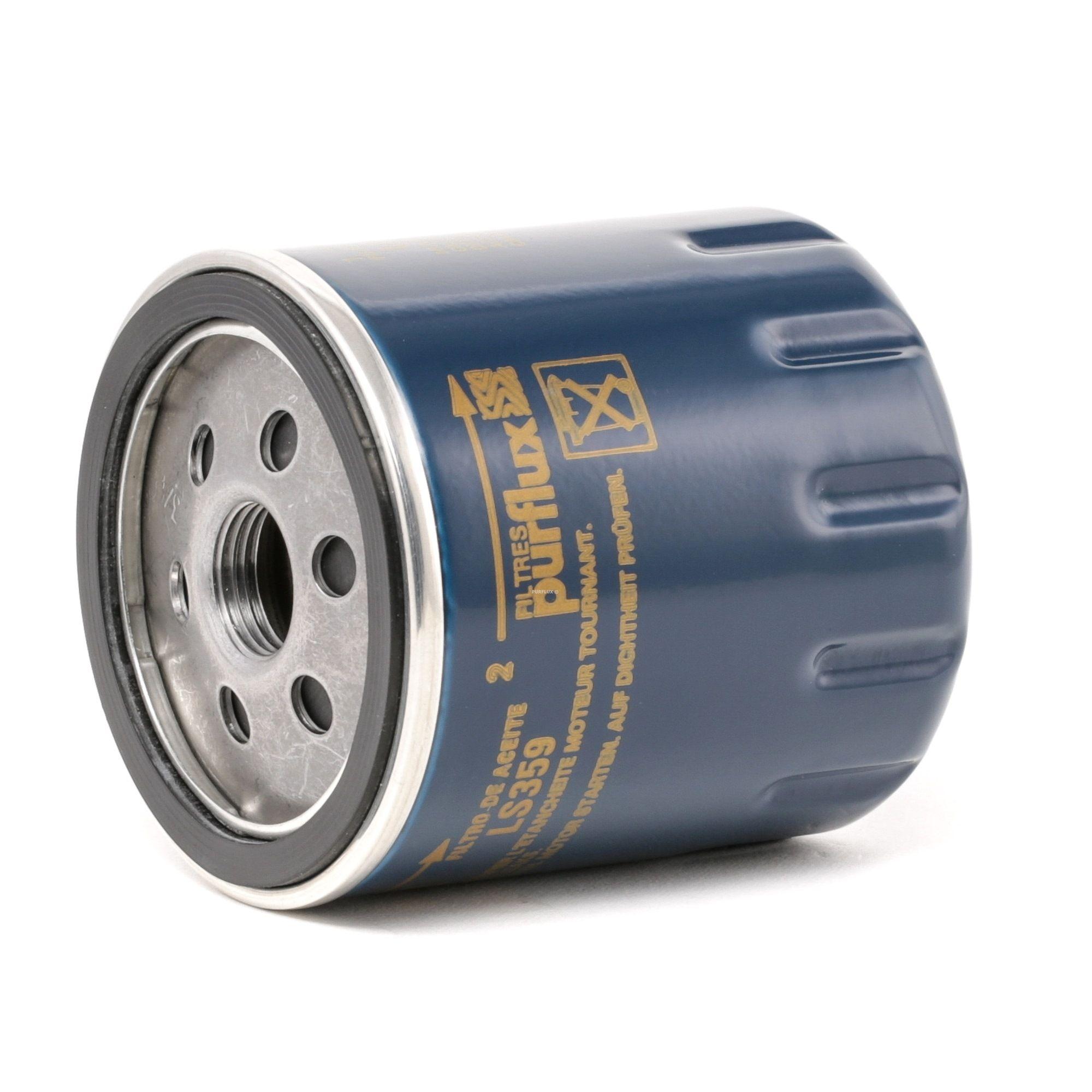 Origine Filtre à huile PURFLUX LS359 (Ø: 76mm, Hauteur: 85mm)
