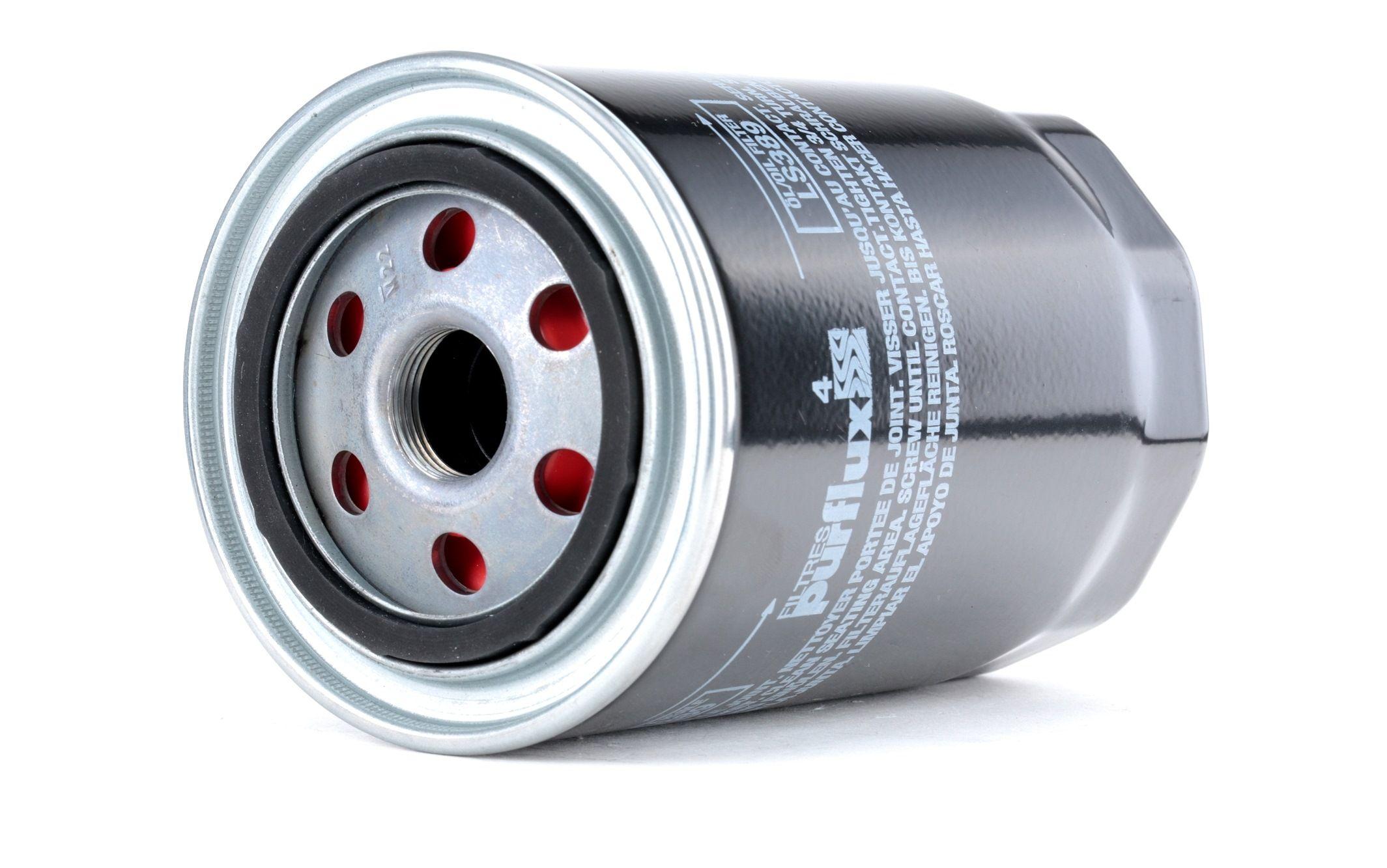 Origine Filtre à huile PURFLUX LS389 (Ø: 95mm, Hauteur: 143mm)