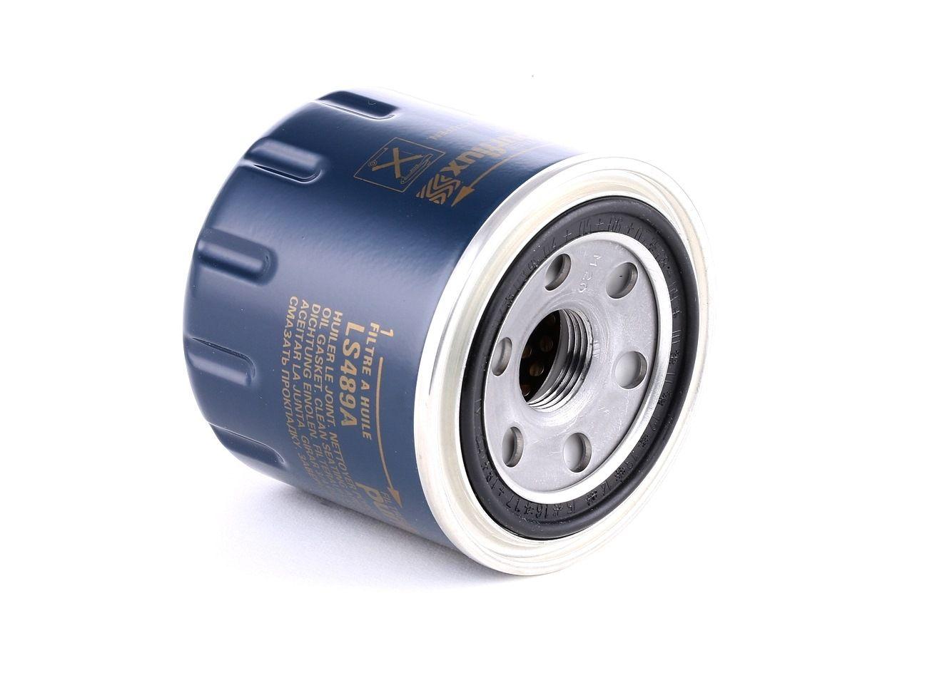 Pieces d'origine: Filtre à huile PURFLUX LS489A (Ø: 76mm, Hauteur: 74mm) - Achetez tout de suite!