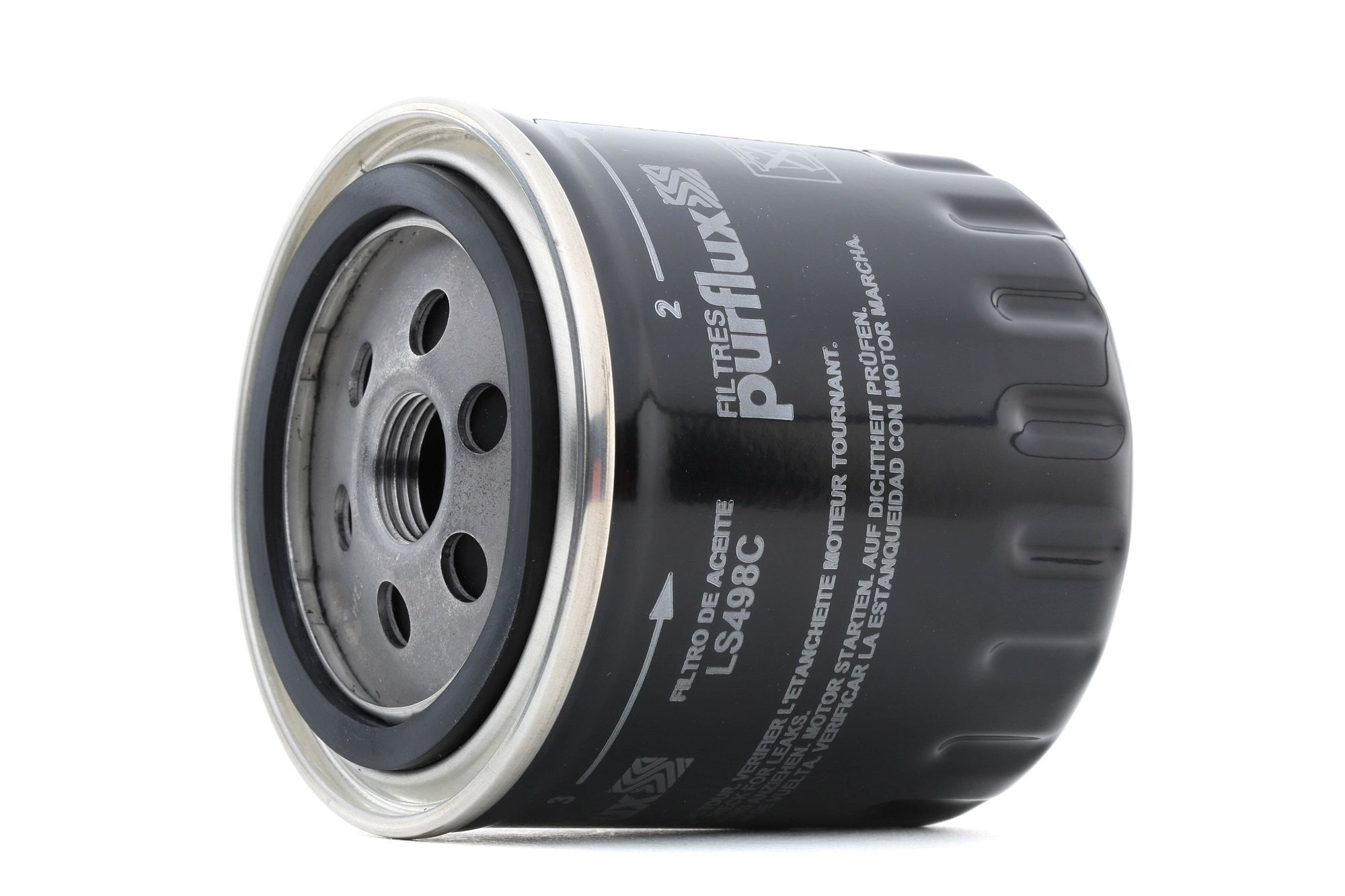 Origine Filtre à huile PURFLUX LS498C (Ø: 86mm, Hauteur: 88mm)