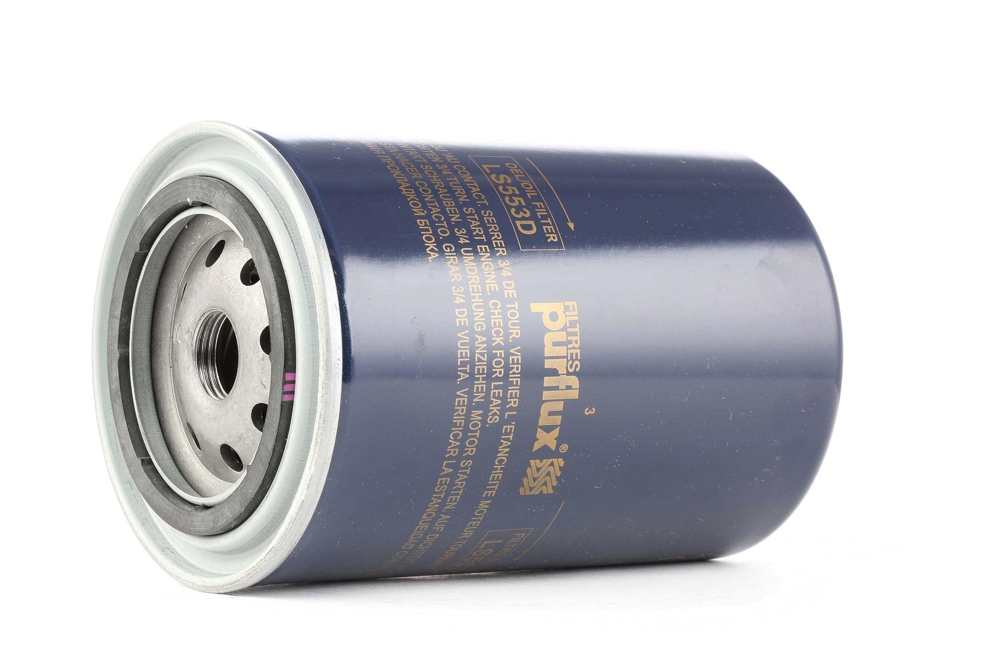 Origine Filtre à huile PURFLUX LS553D (Ø: 93mm, Hauteur: 151mm)