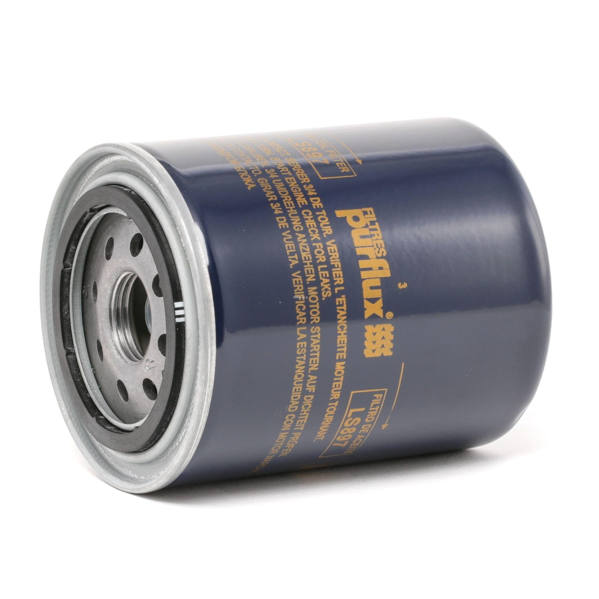 Origine Filtre à huile PURFLUX LS897 (Ø: 93mm, Hauteur: 120mm)