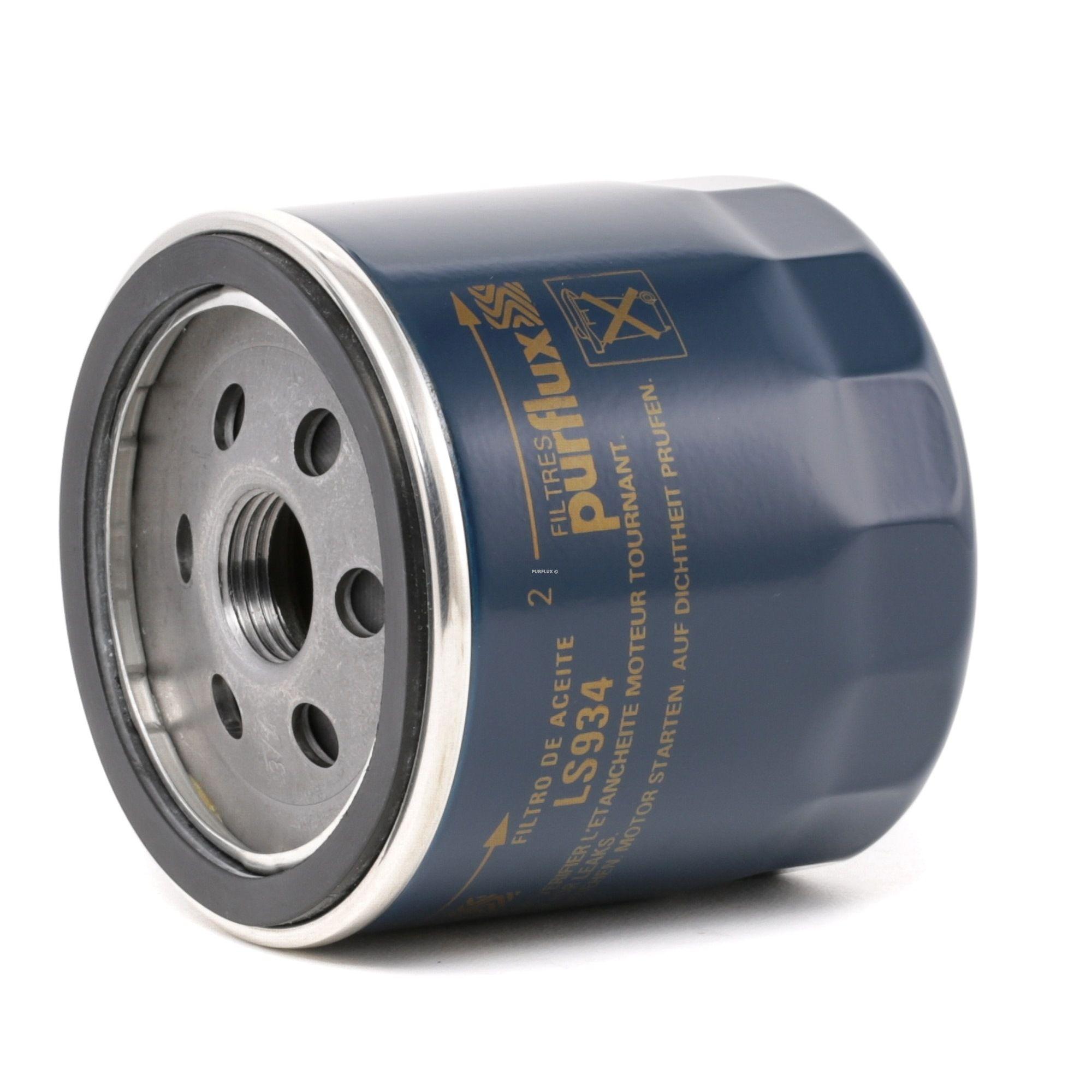 Origine Filtre à huile PURFLUX LS934 (Ø: 76mm, Hauteur: 74mm)