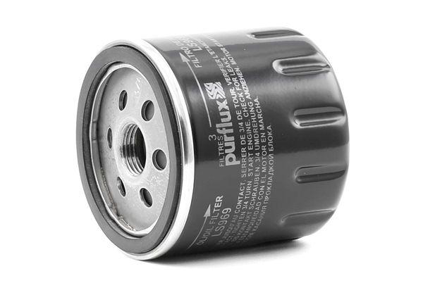 Origine Filtre à huile PURFLUX LS969 (Hauteur: 78mm)