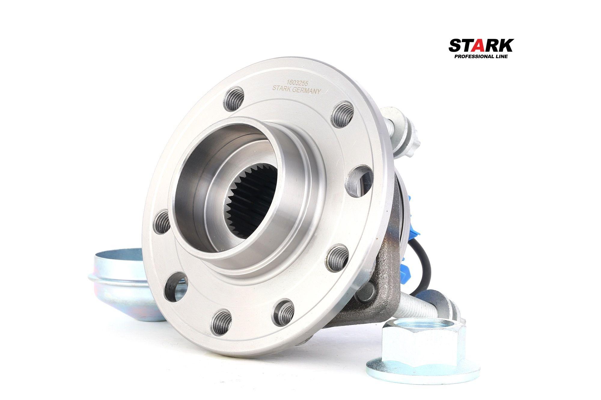 Купете SKWB-0180132 STARK предна ос, с вграден сензор за ABS, с маслена шапка Комплект колесен лагер SKWB-0180132 евтино