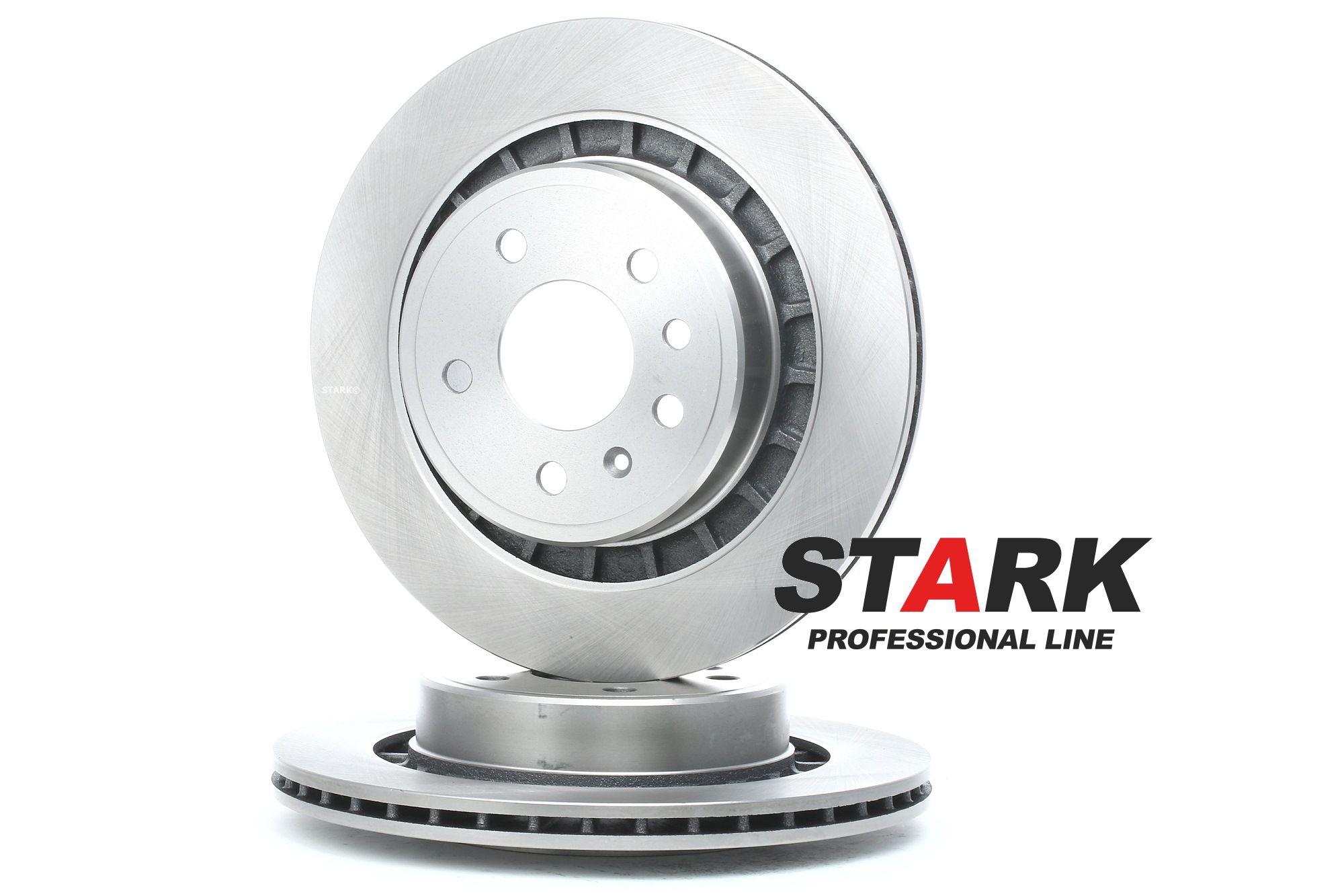 SKBD-0022252 STARK Hinterachse, Innenbelüftet, mit Schrauben Ø: 300,0mm, Bremsscheibendicke: 20mm Bremsscheibe SKBD-0022252 günstig kaufen
