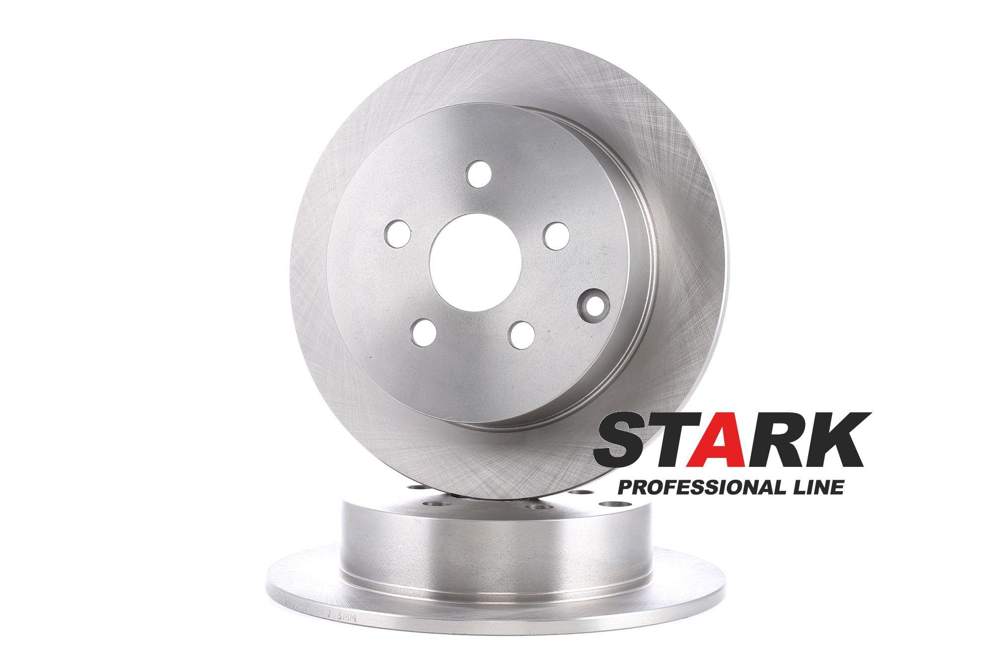 Bremsscheibe Toyota Celica T23 hinten und vorne 2000 - STARK SKBD-0022055 (Ø: 269,0mm, Felge: 5-loch, Bremsscheibendicke: 9mm)