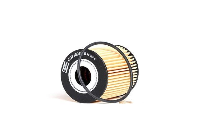 COF100586E CHAMPION Filtereinsatz, TITAN Innendurchmesser: 21mm, Ø: 65mm, Höhe: 83mm Ölfilter COF100586E günstig kaufen