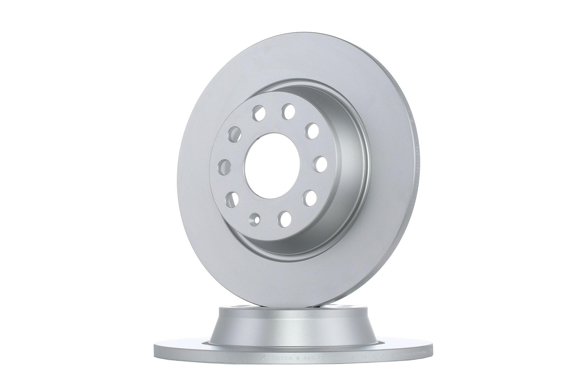 Bosch 0986479088 Bremsscheibe Bremsscheiben BD1023 Vorderachse Paar NEU /& OVP